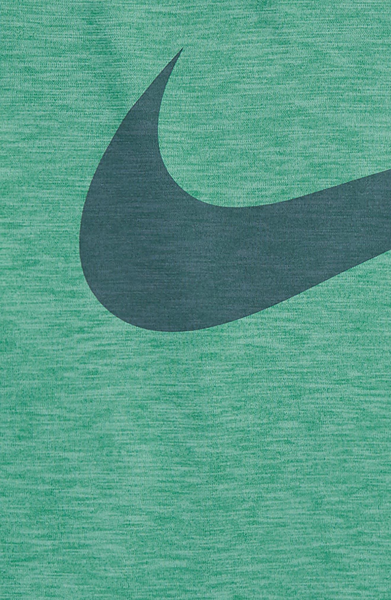 Breathe Dri-FIT T-Shirt,                             Alternate thumbnail 2, color,                             Kinetic Green/ Green Noise