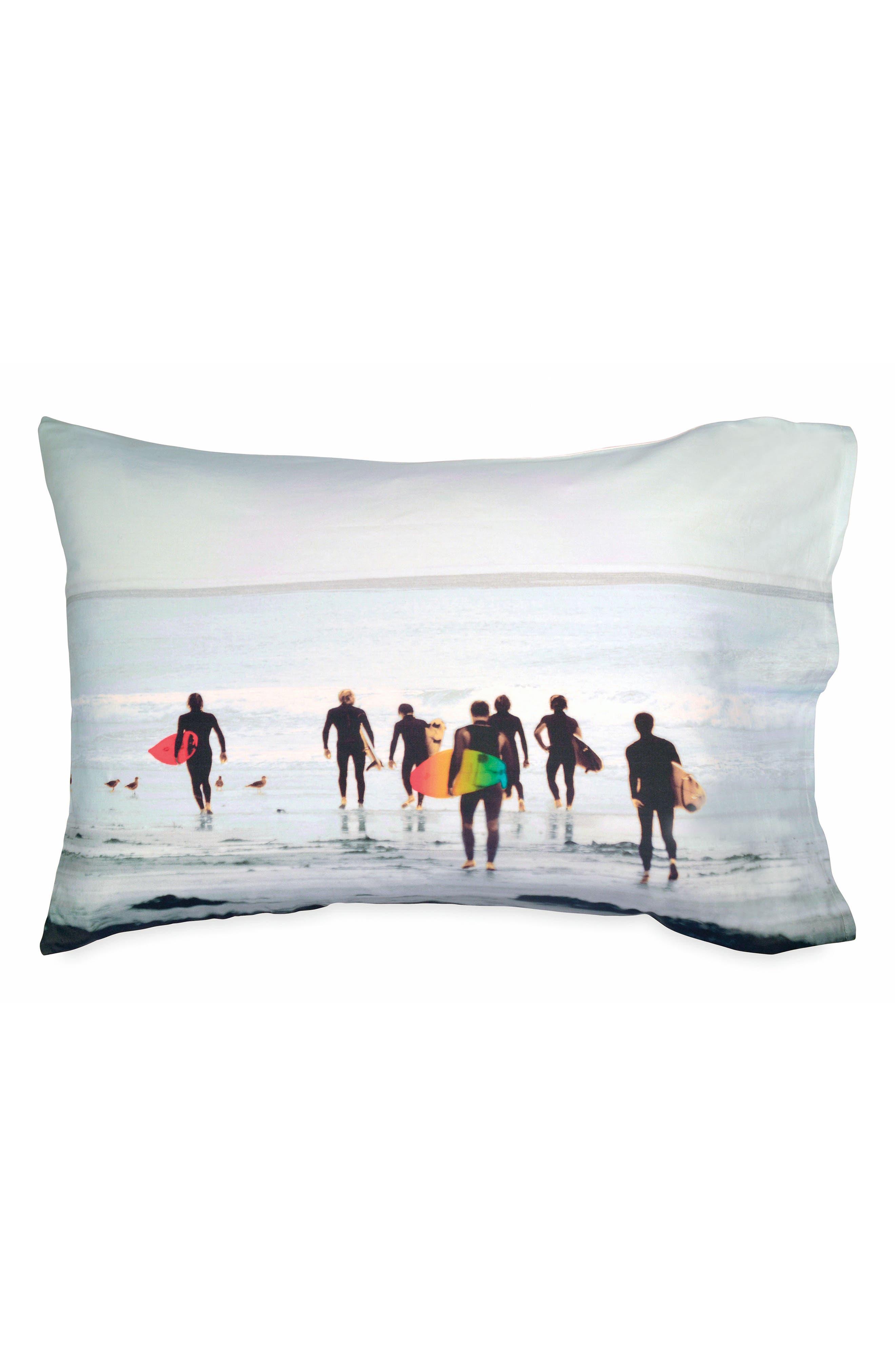 Alternate Image 1 Selected - Hang Ten Surfers Pillowcase