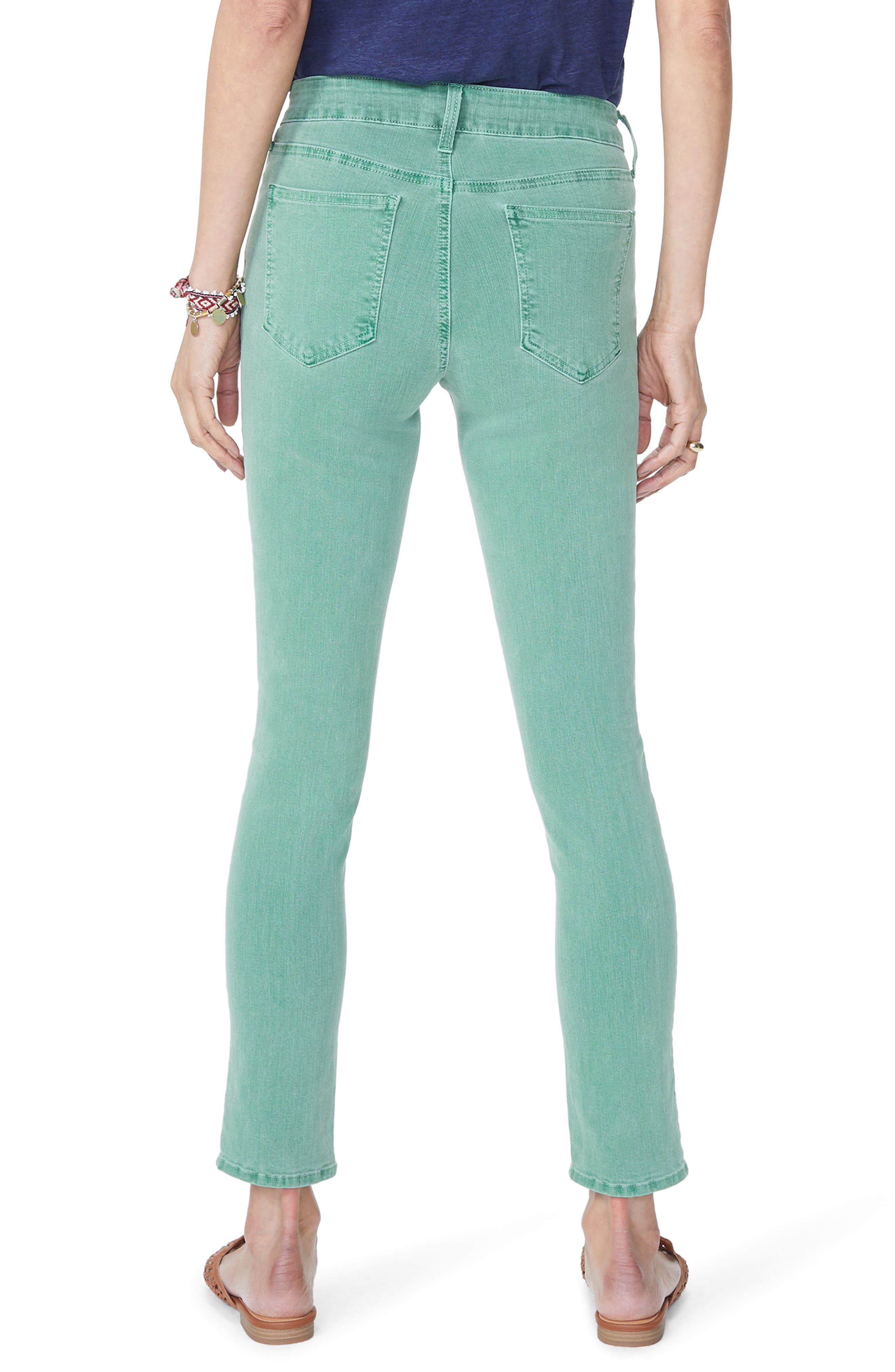 Alina Ankle Jeans,                             Alternate thumbnail 2, color,                             Cactus
