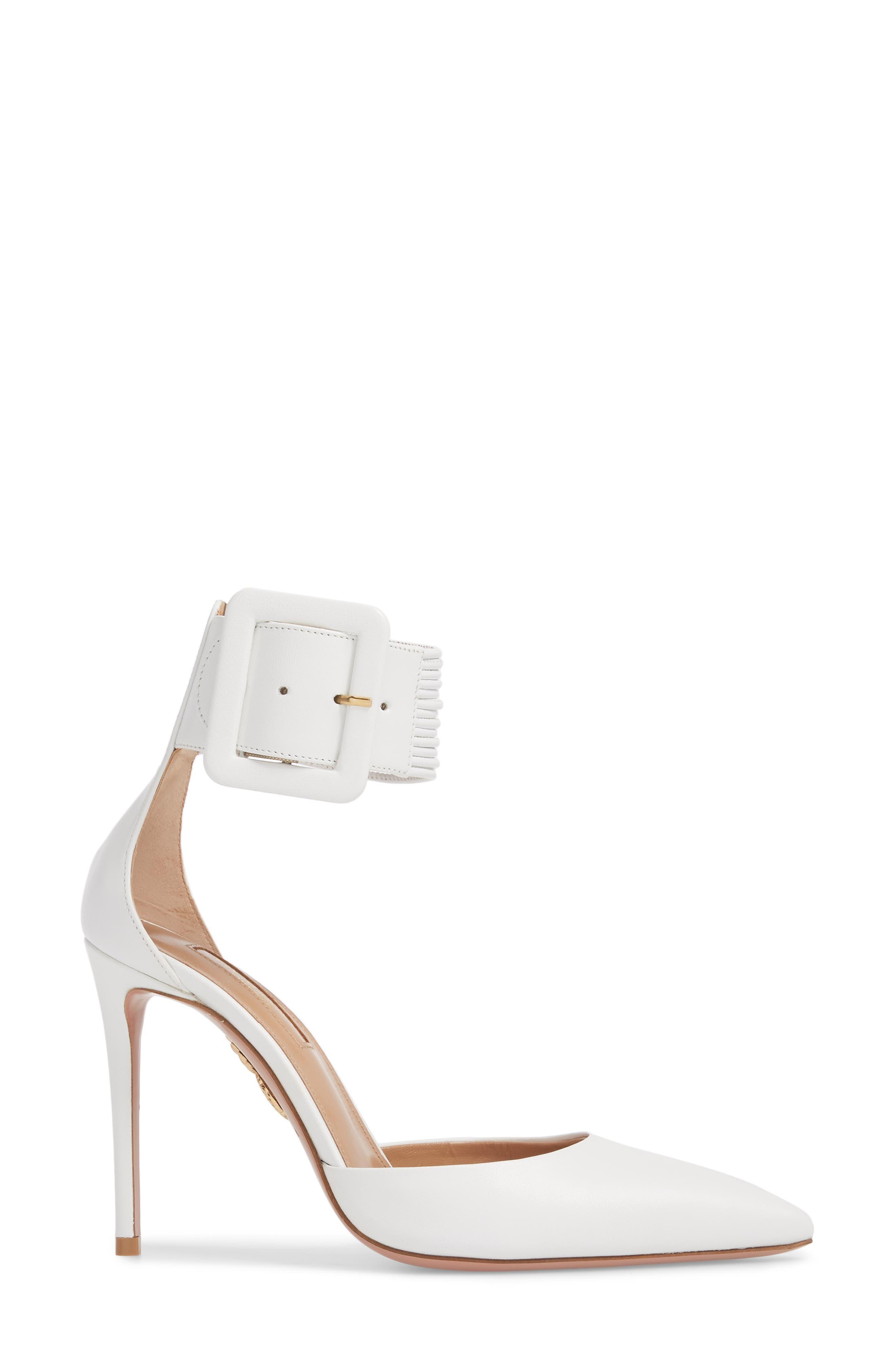 Alternate Image 3  - Aquazzura Casablanca Ankle Cuff Pump (Women)