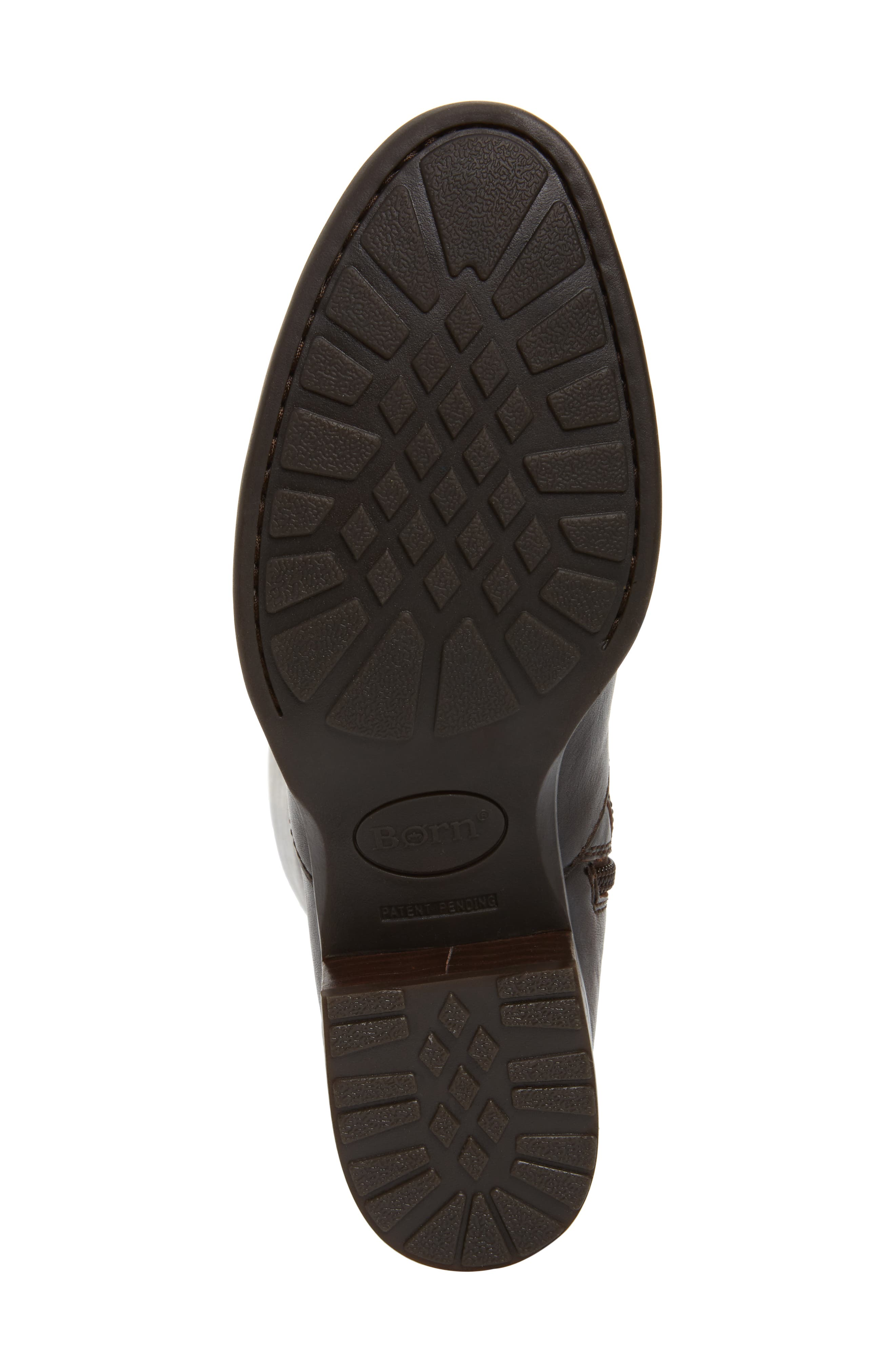 Cupra Tall Boot,                             Alternate thumbnail 6, color,                             Brown Leather