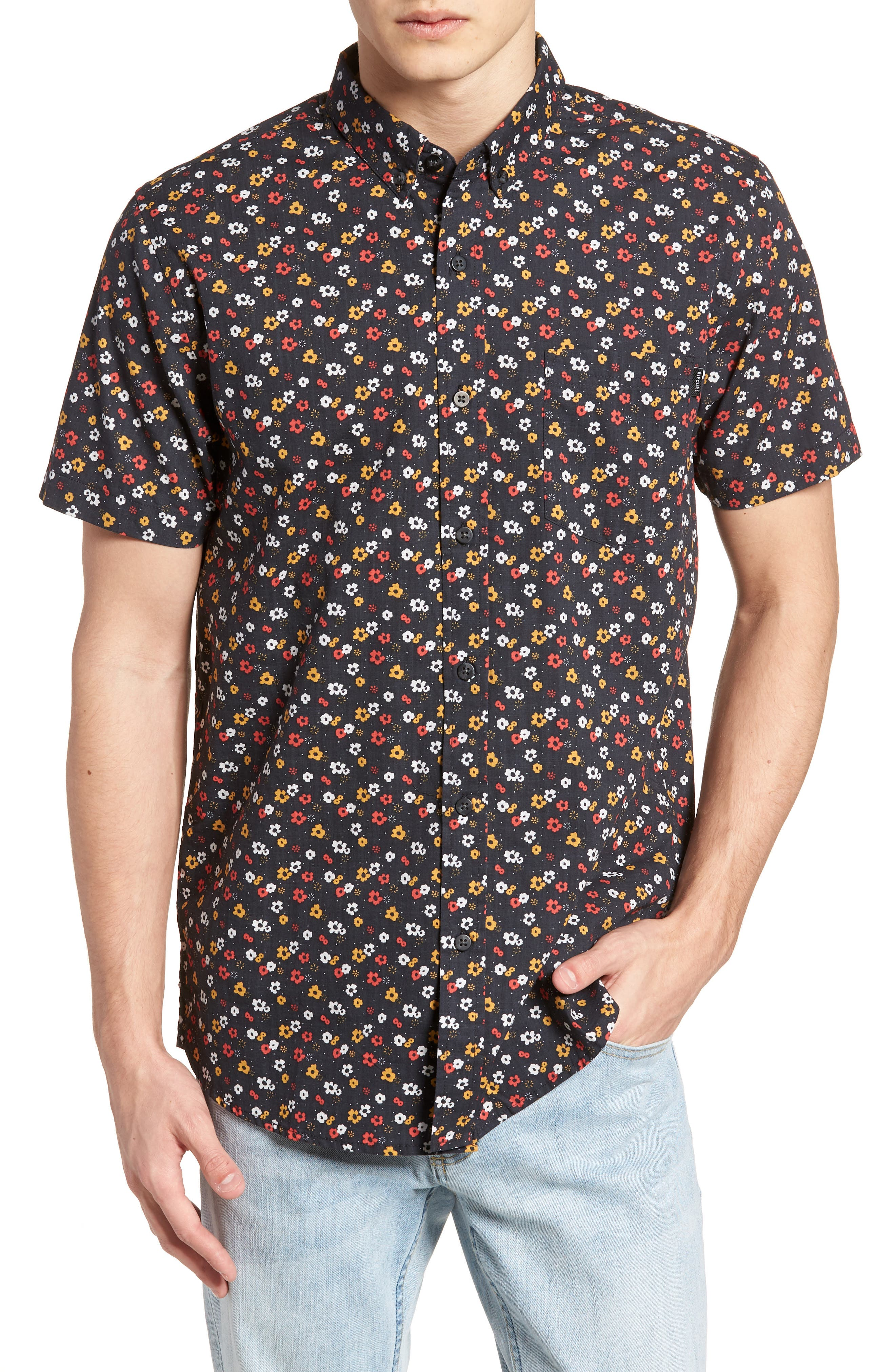 Alternate Image 1 Selected - Rip Curl Scopic Woven Shirt