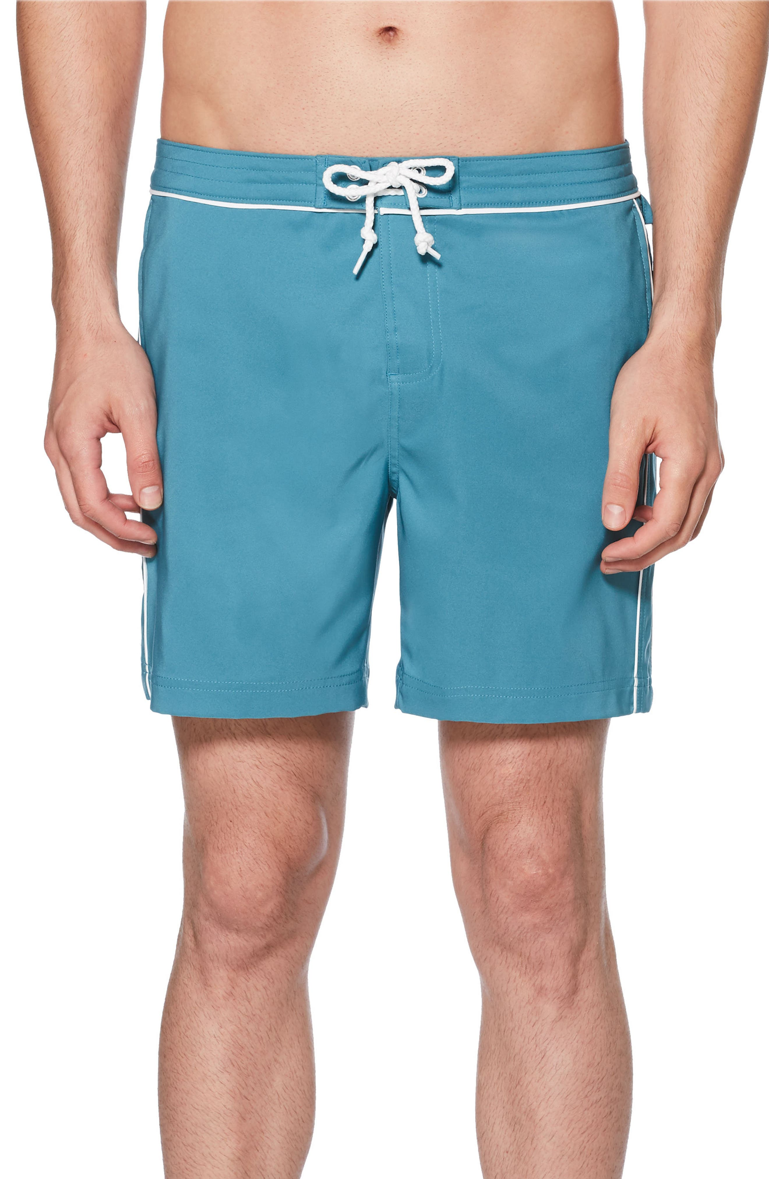 The Earl Swim Trunks,                         Main,                         color, Storm Blue