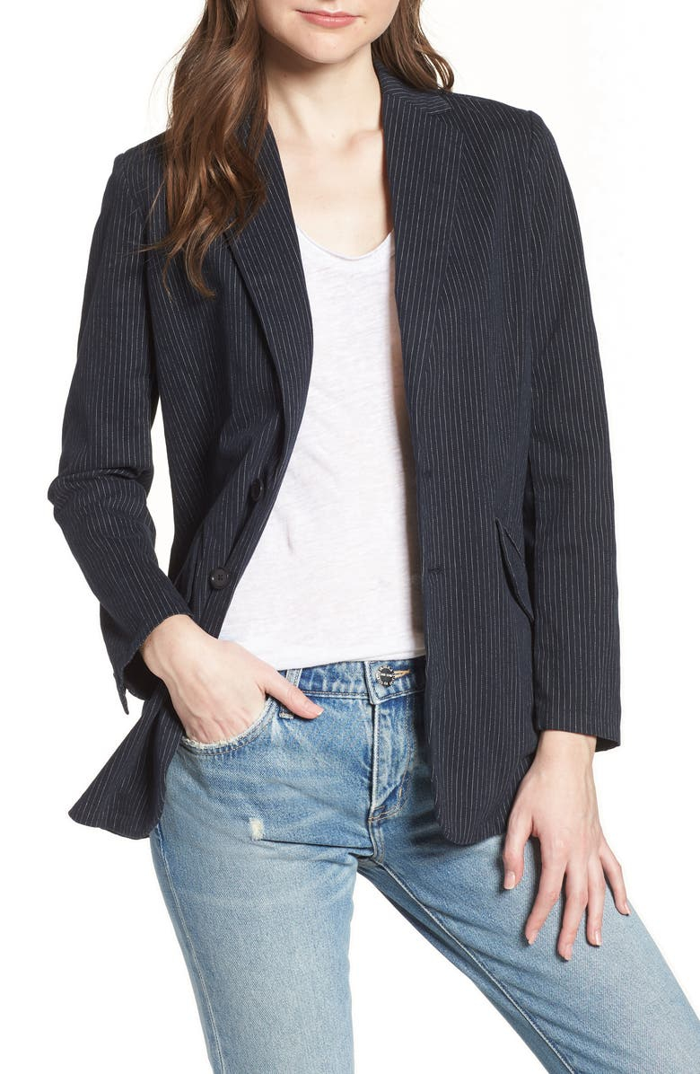 The Late Night Stripe Blazer