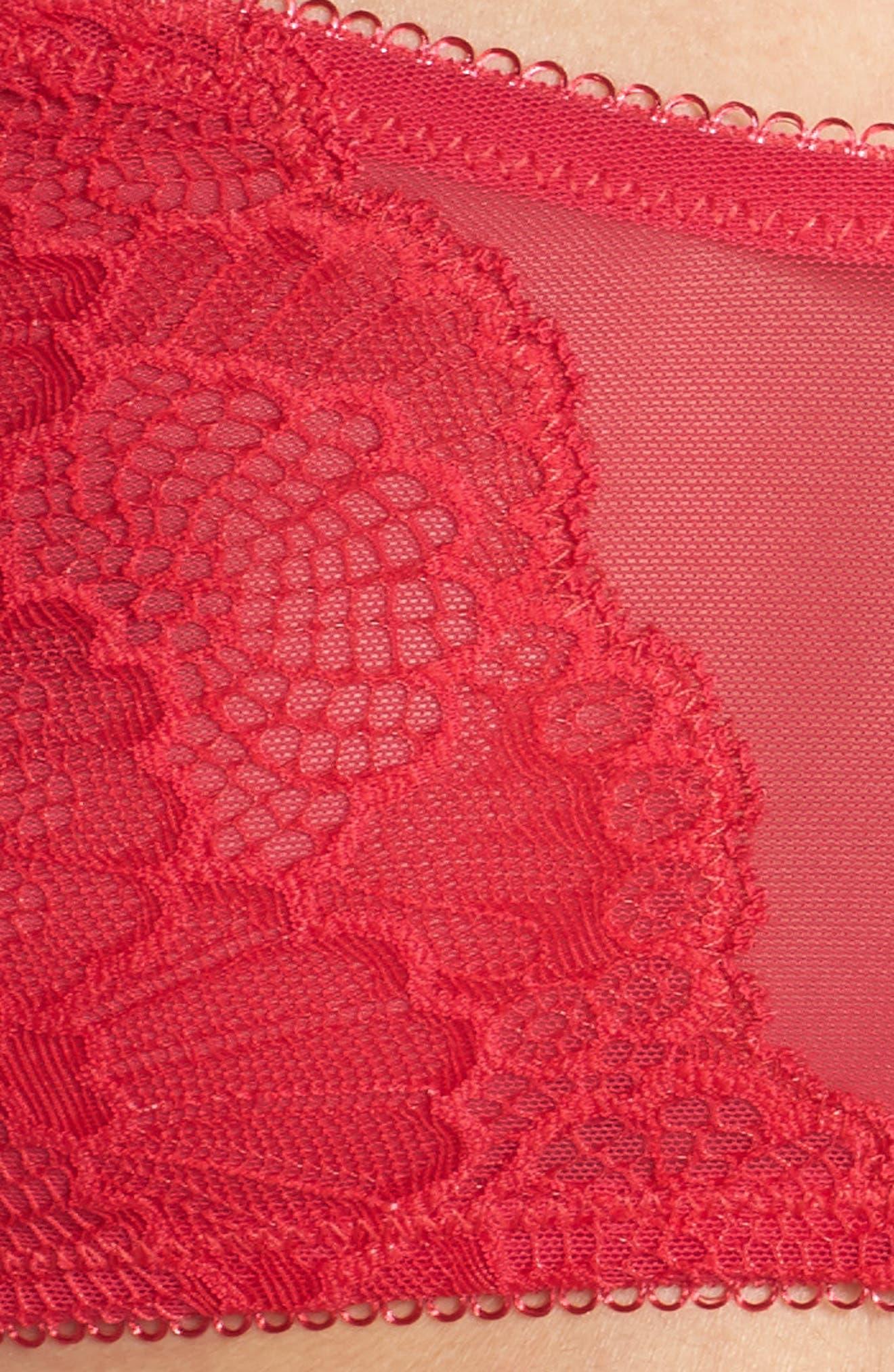 Intimately FP Malinda Bandeau Bra,                             Alternate thumbnail 7, color,                             Raspberry