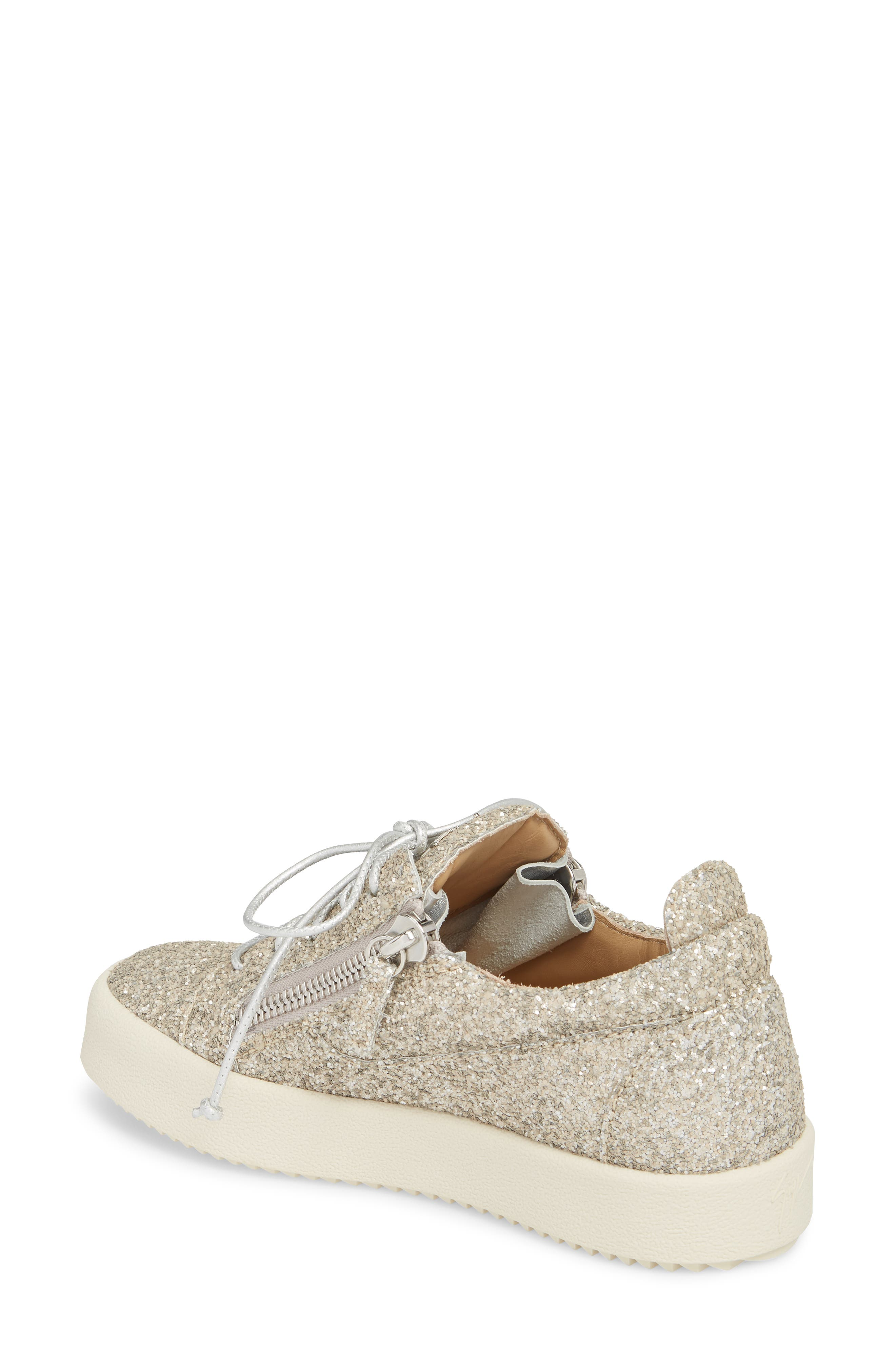 May London Low Top Sneaker,                             Alternate thumbnail 2, color,                             Champagne