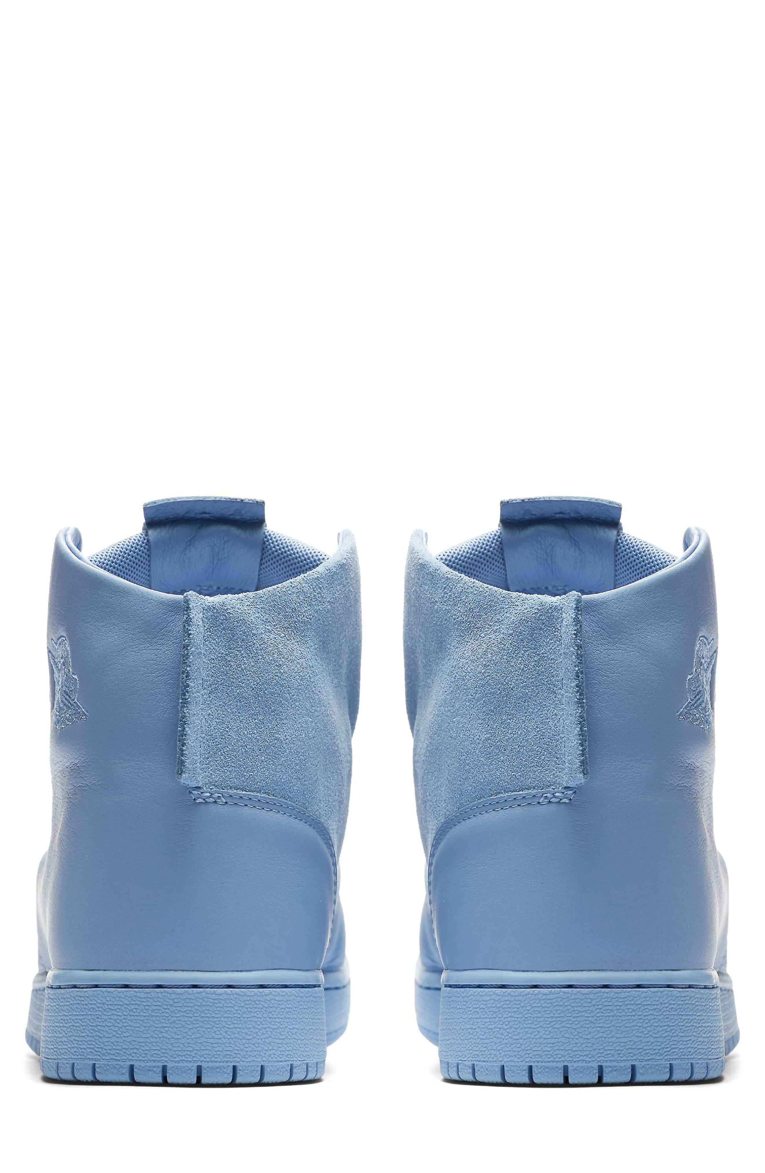 Air Jordan 1 Sage XX High Top Sneaker,                             Alternate thumbnail 2, color,                             Light Blue