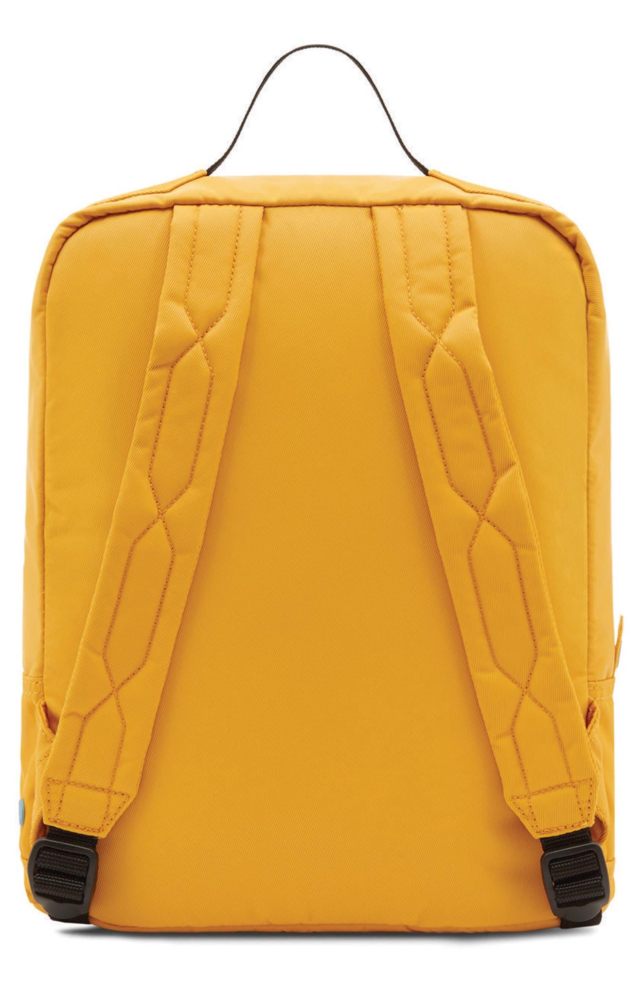 Original Water Resistant Nylon Backpack,                             Alternate thumbnail 6, color,                             Yellow