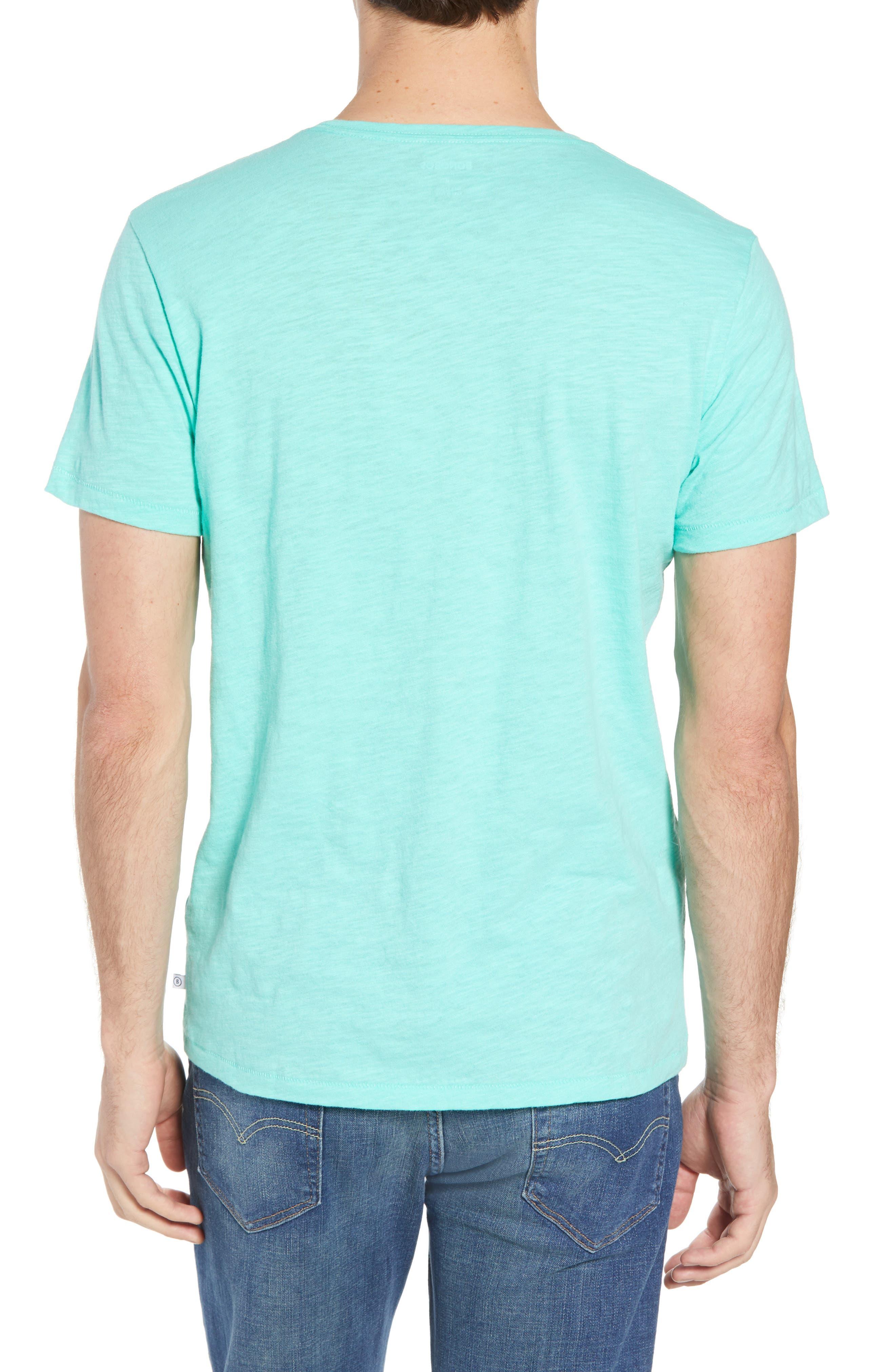 Sup Slub T-Shirt,                             Alternate thumbnail 2, color,                             Sup Bermuda Green