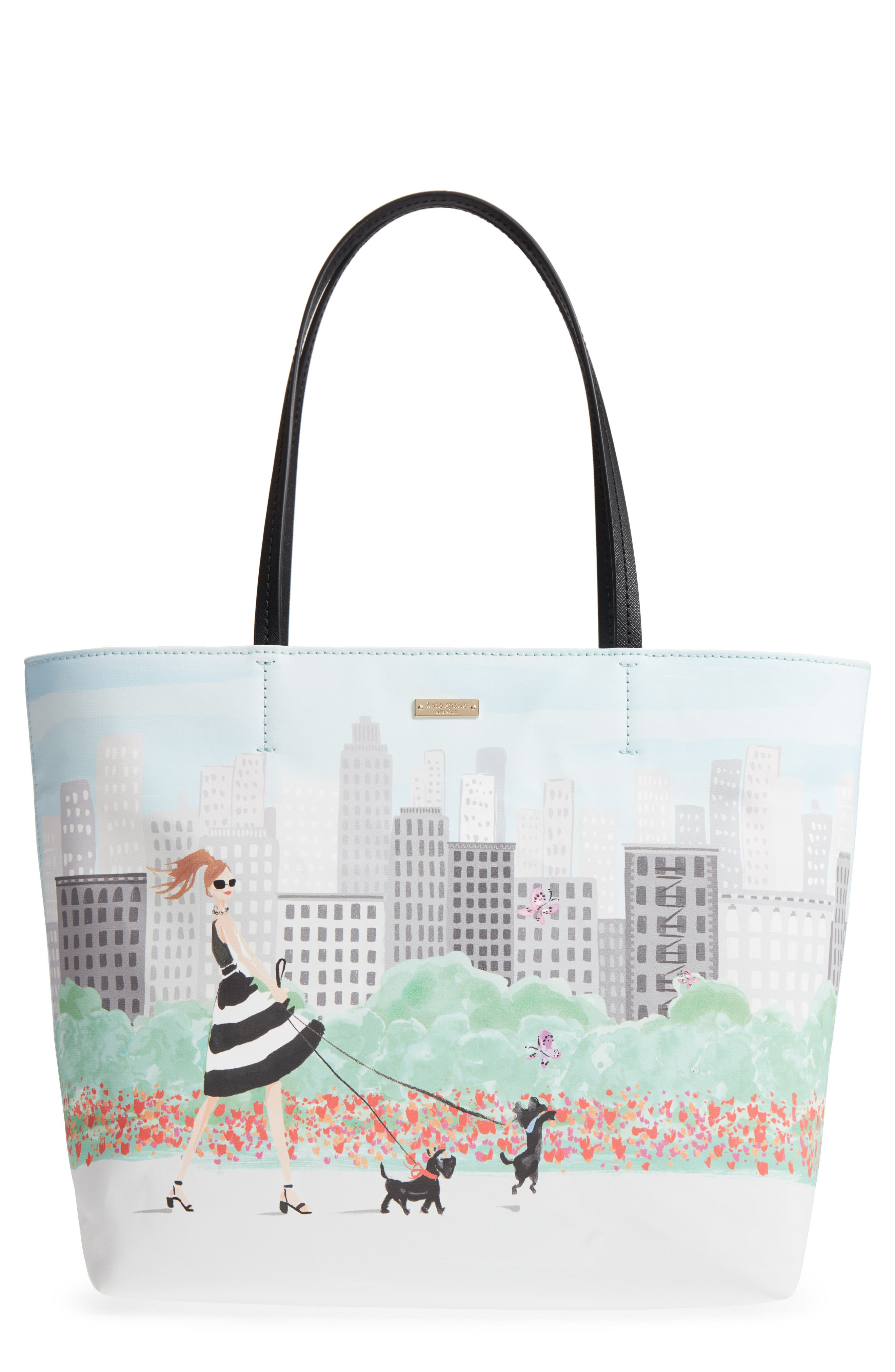 kate spade new york mom knows best canvas tote