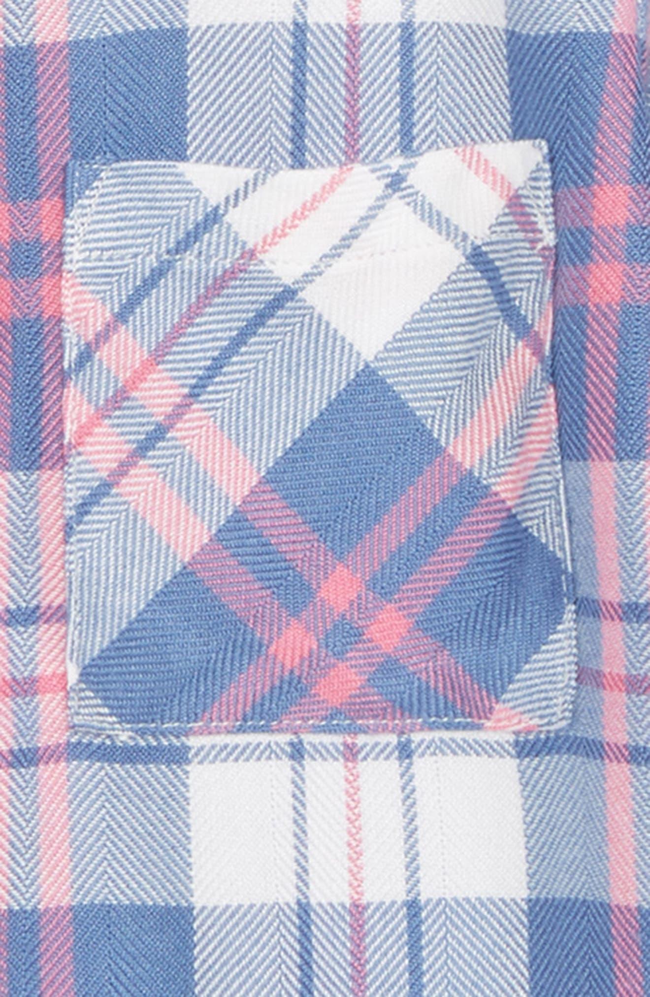 Alternate Image 2  - Rails Hudson Plaid Shirt (Toddler Girls, Little Girls & Big Girls)