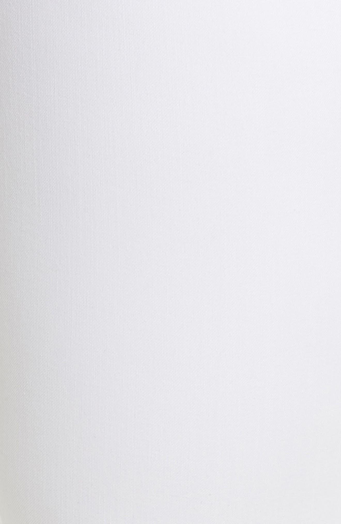 Ab-solution Ankle Skimmer Jeans,                             Alternate thumbnail 6, color,                             Optic White