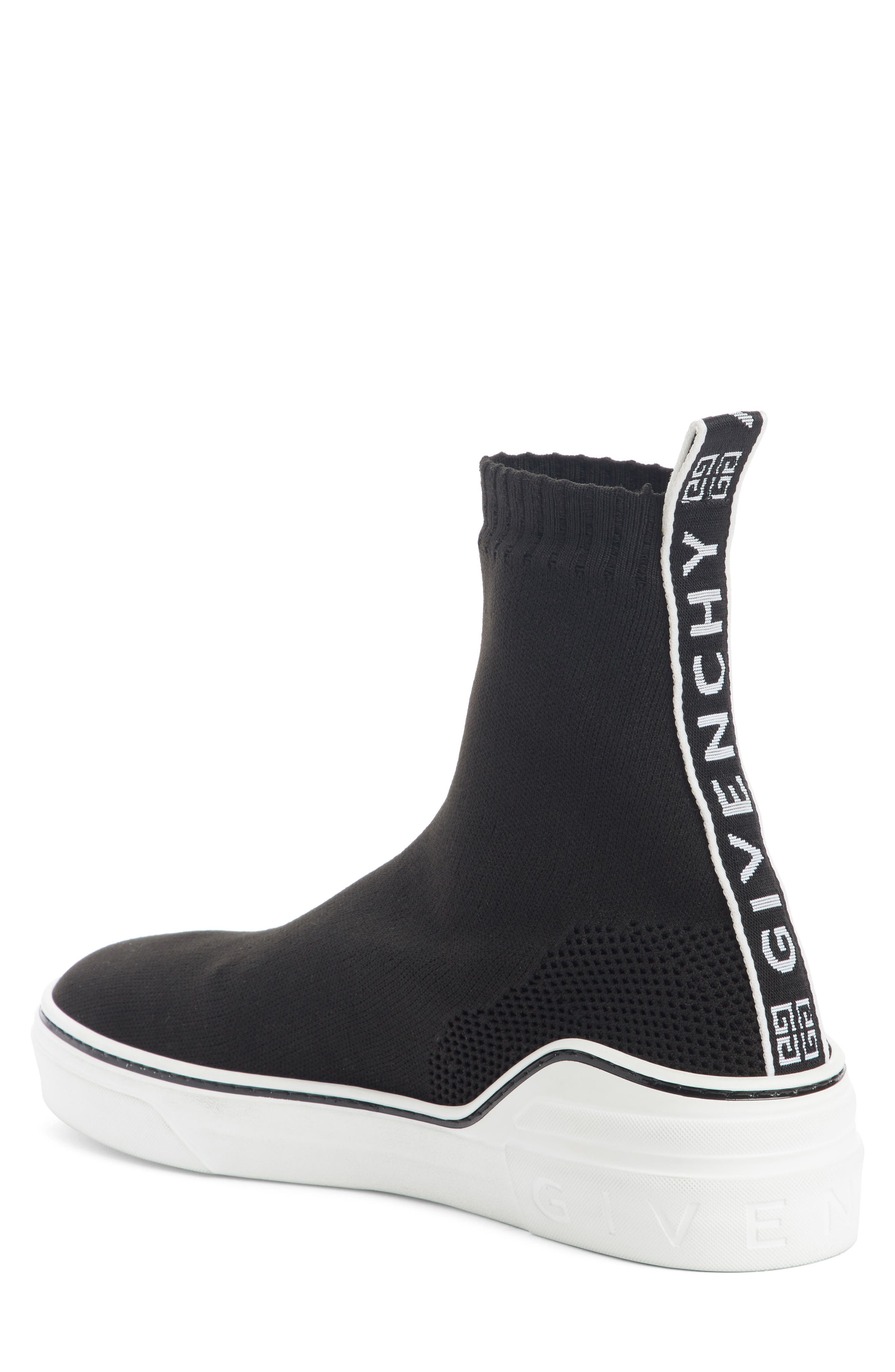 Alternate Image 2  - Givenchy George V Hi Sock Sneaker (Men)