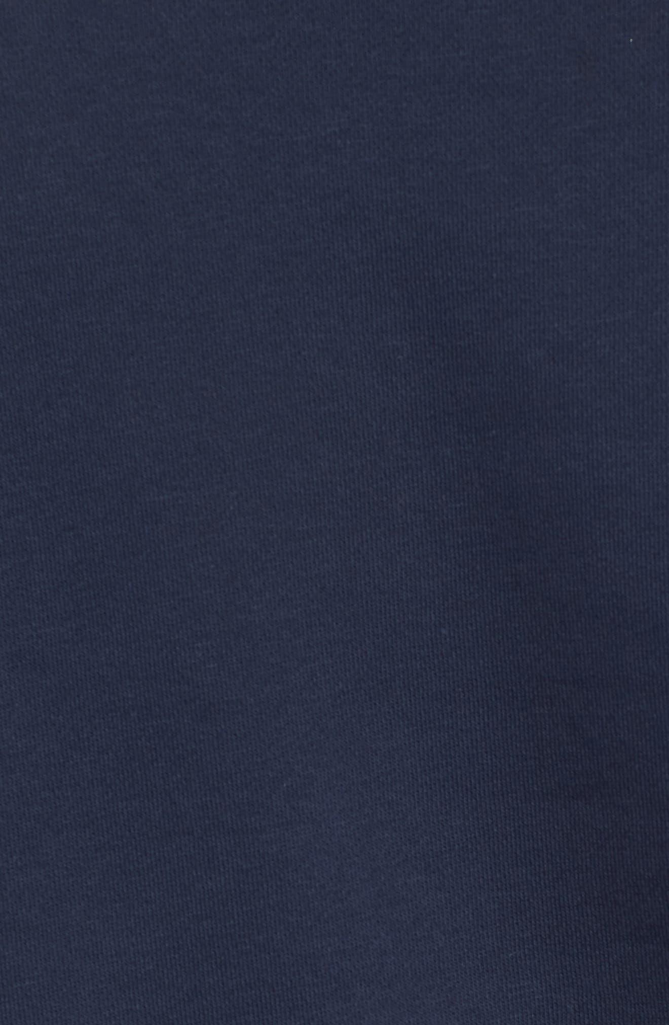 NSW Air Crewneck Sweatshirt,                             Alternate thumbnail 5, color,                             Birch/ Green/ Obsidian/ White