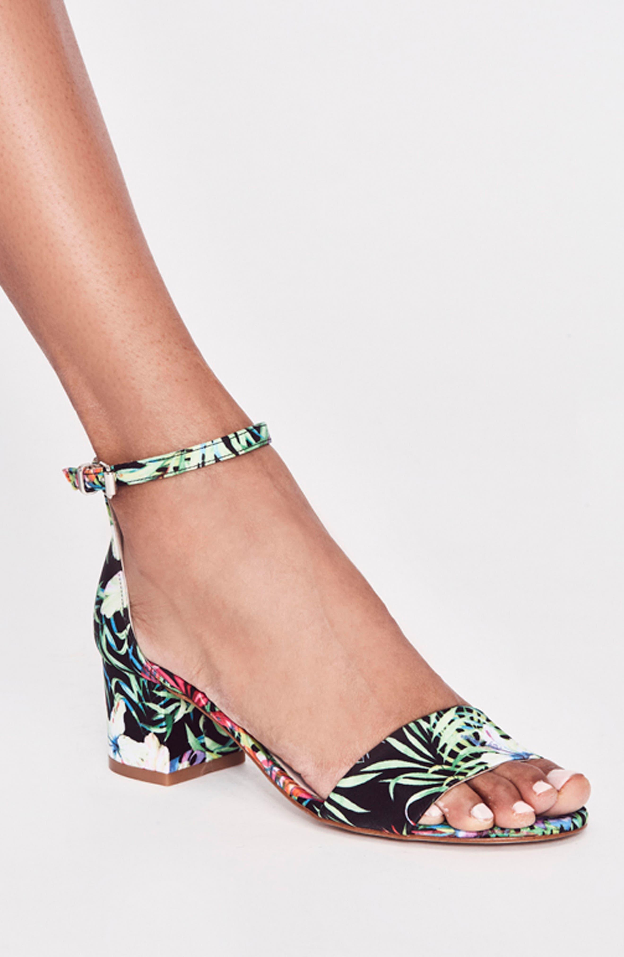 Marigold Block Heel Sandal,                             Alternate thumbnail 7, color,