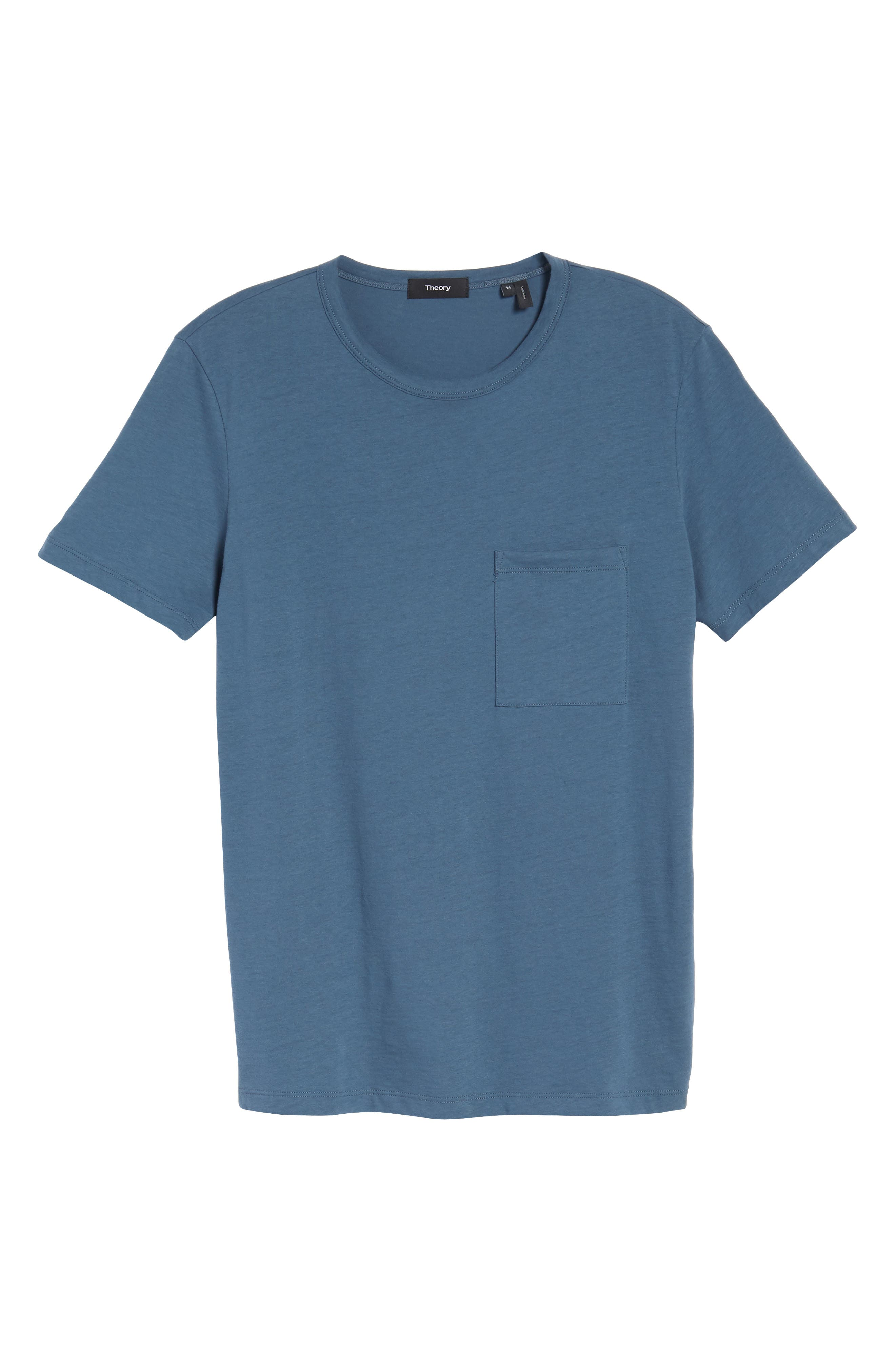 Essential Regular Fit T-Shirt,                             Alternate thumbnail 6, color,                             Hydro