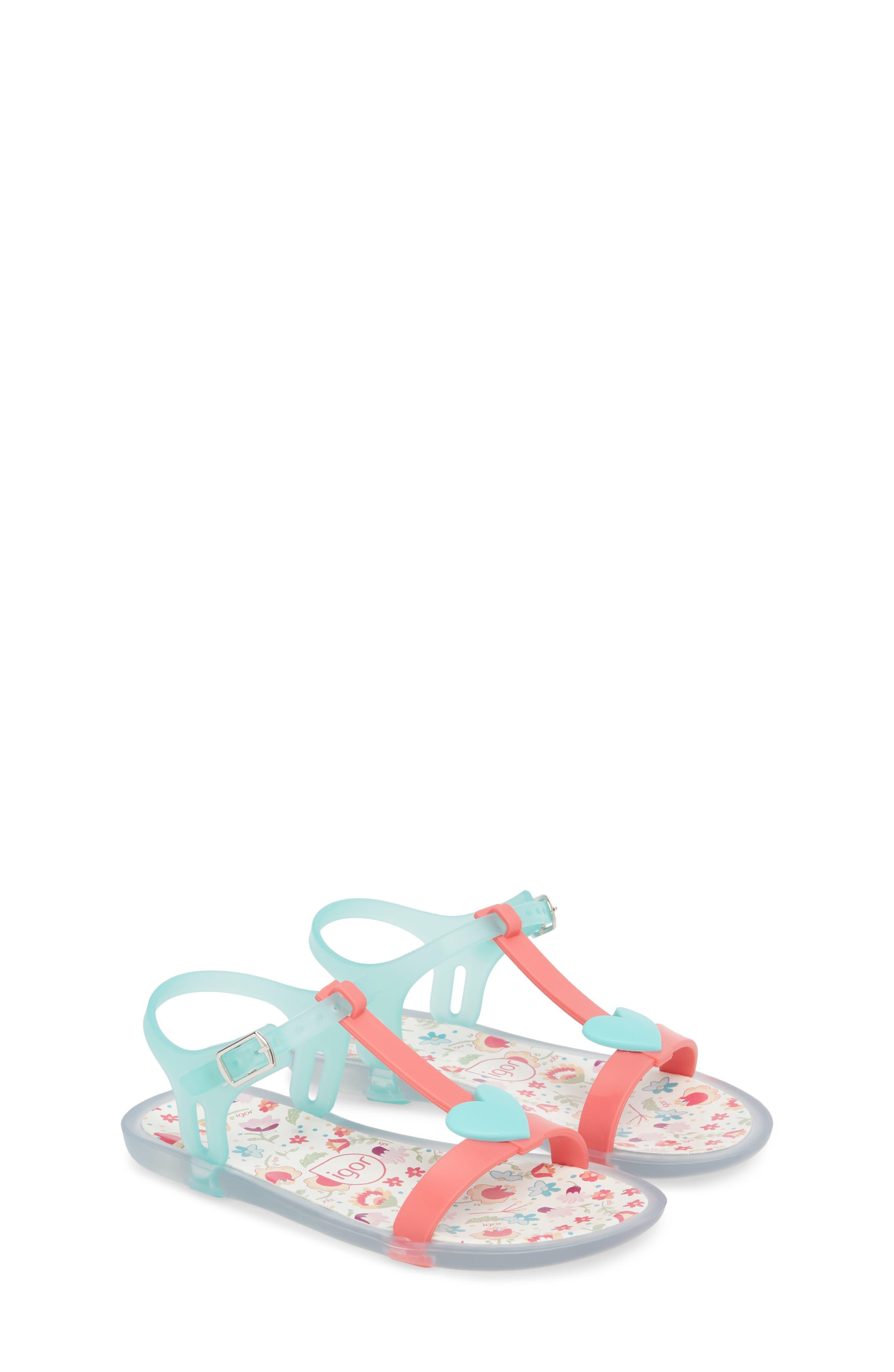 Igor Tricia Cuore T-Strap Sandal (Toddler & Little Kid)