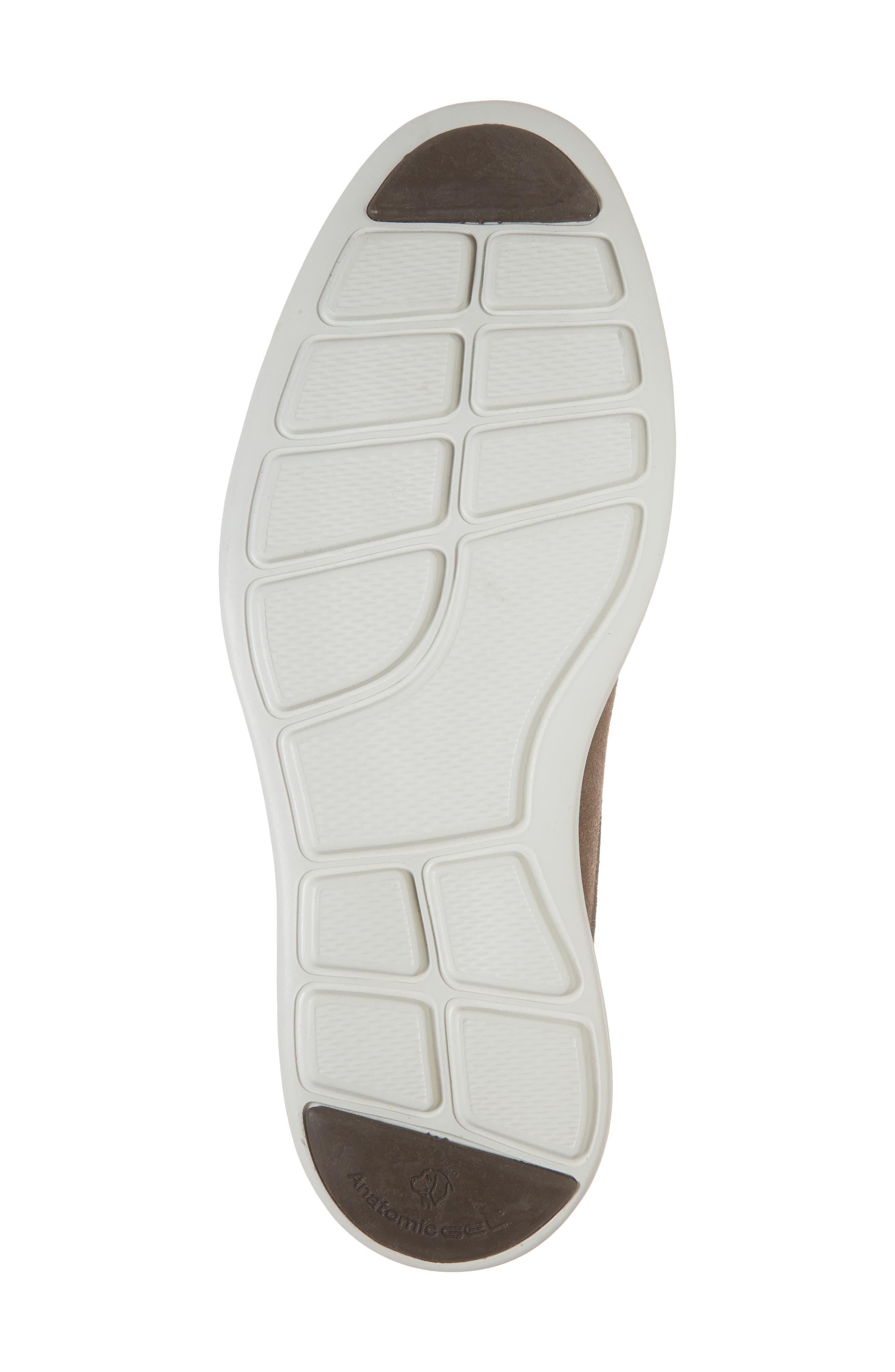 Planalto Plain Toe Derby,                             Alternate thumbnail 6, color,                             Suede Truffle Leather
