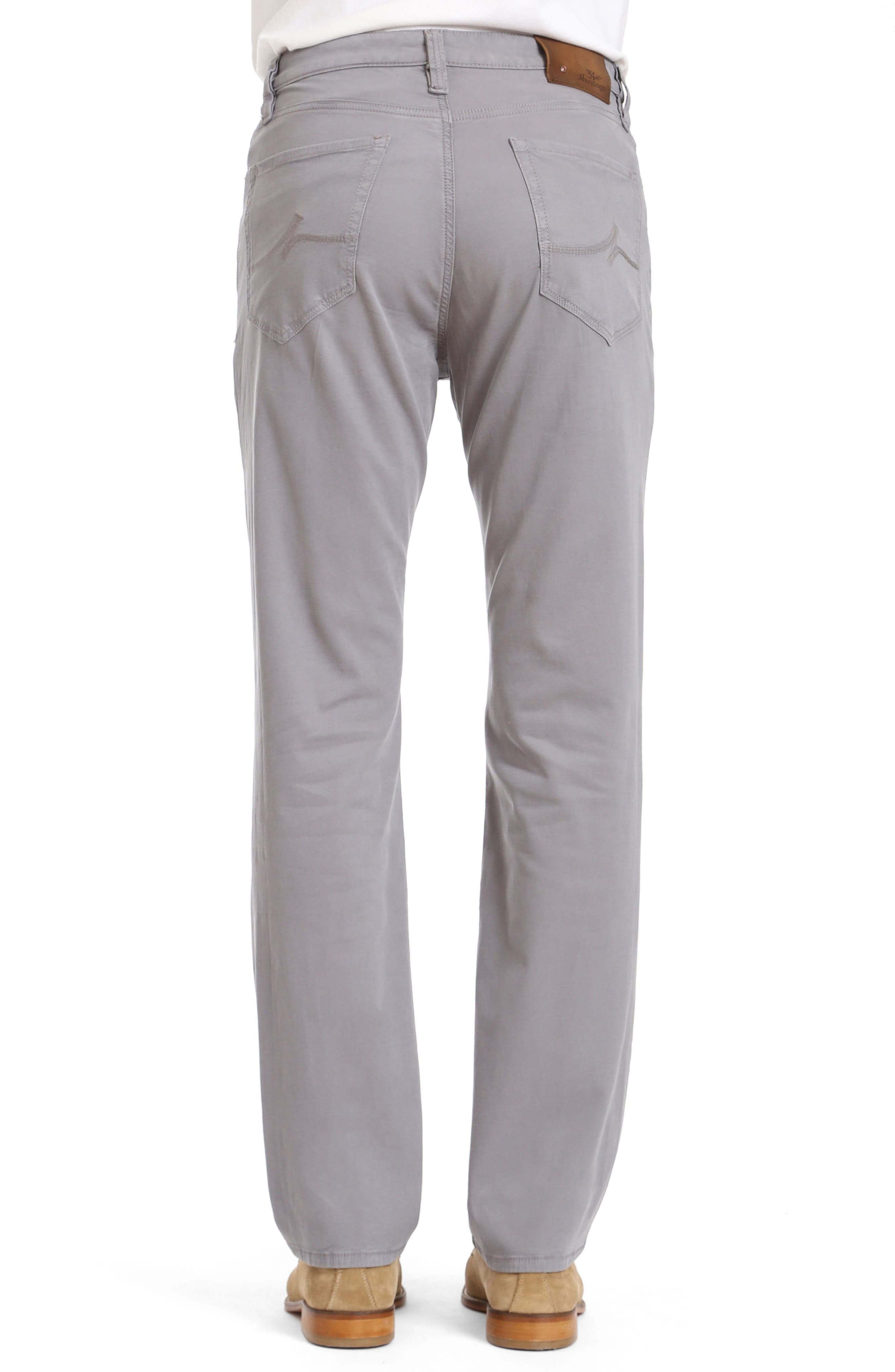 Charisma Relaxed Fit Twill Pants,                             Alternate thumbnail 2, color,                             Grey Fine Twill