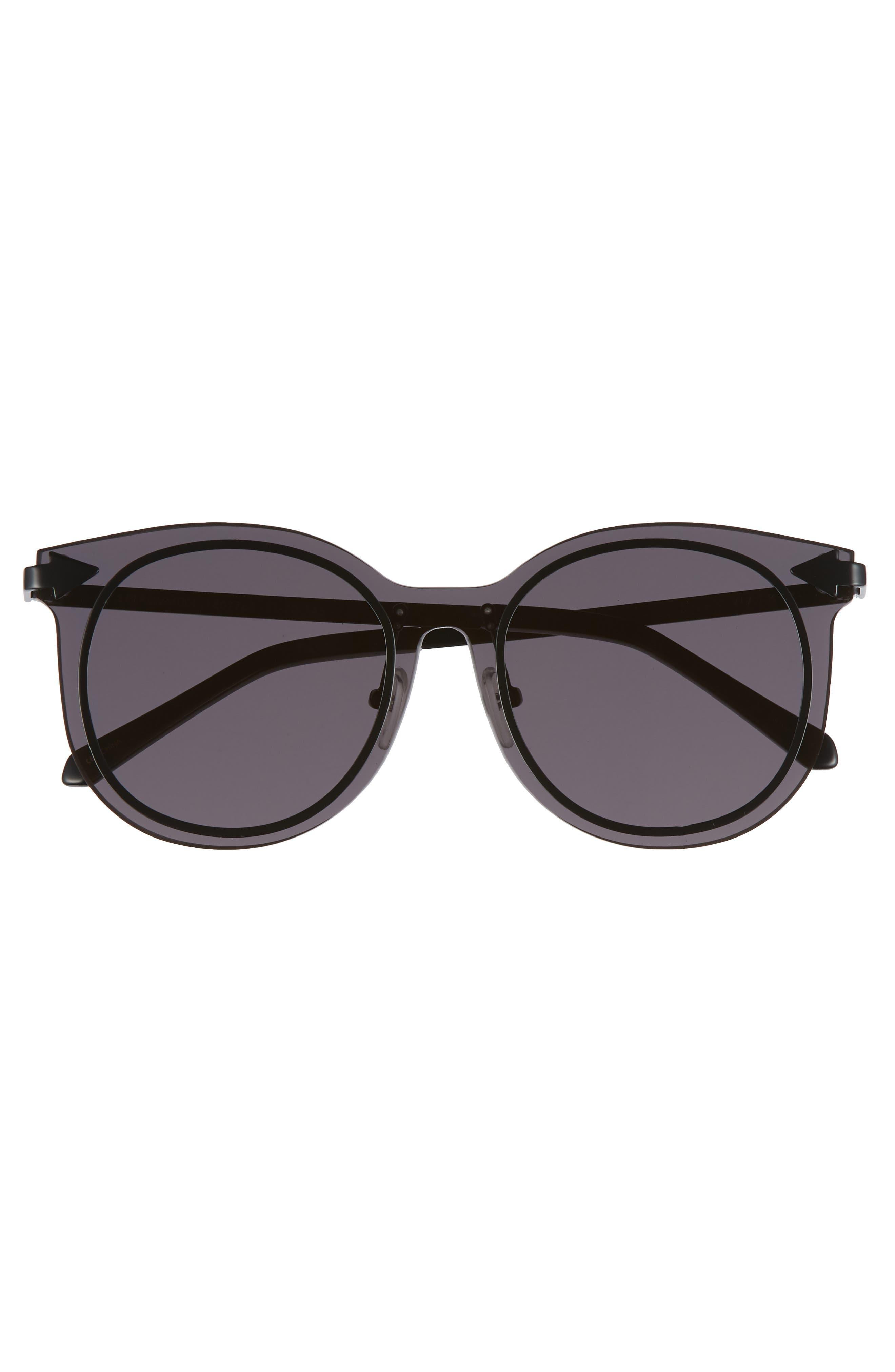 Miss Persimmon 51mm Sunglasses,                             Alternate thumbnail 3, color,                             Black