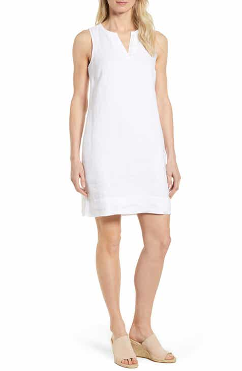 bef00eef946 Tommy Bahama Sea Glass Linen Shift Dress