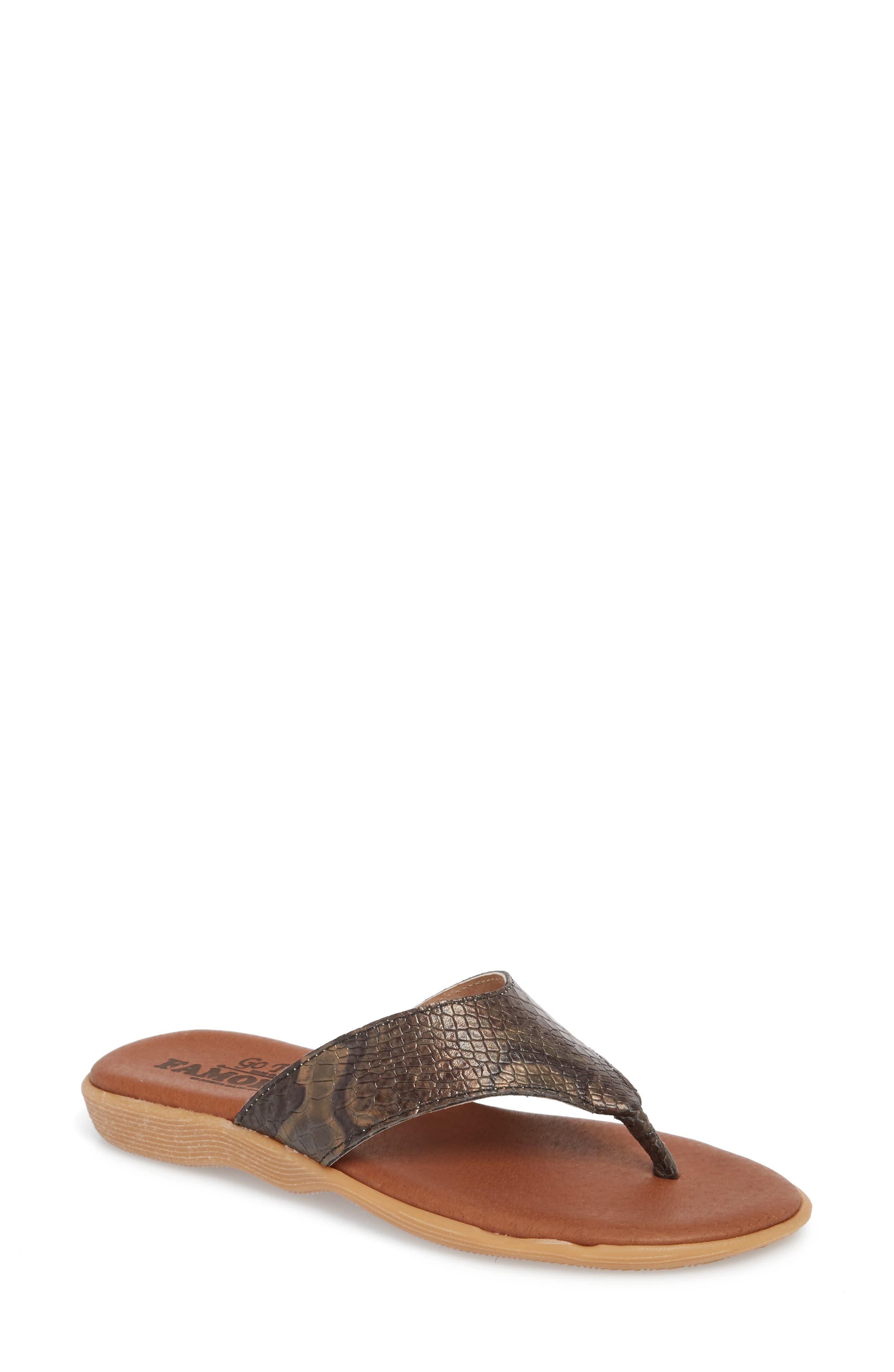 Flippity Flop Flip Flop,                         Main,                         color, Snake Leather