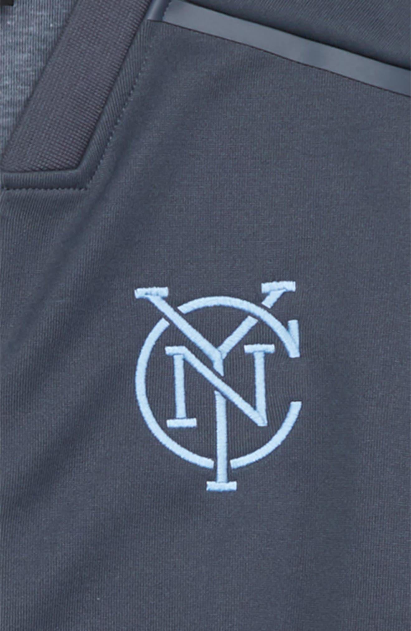 MLS New York City FC Anthem Full Zip Jacket,                             Alternate thumbnail 2, color,                             Utility Blue