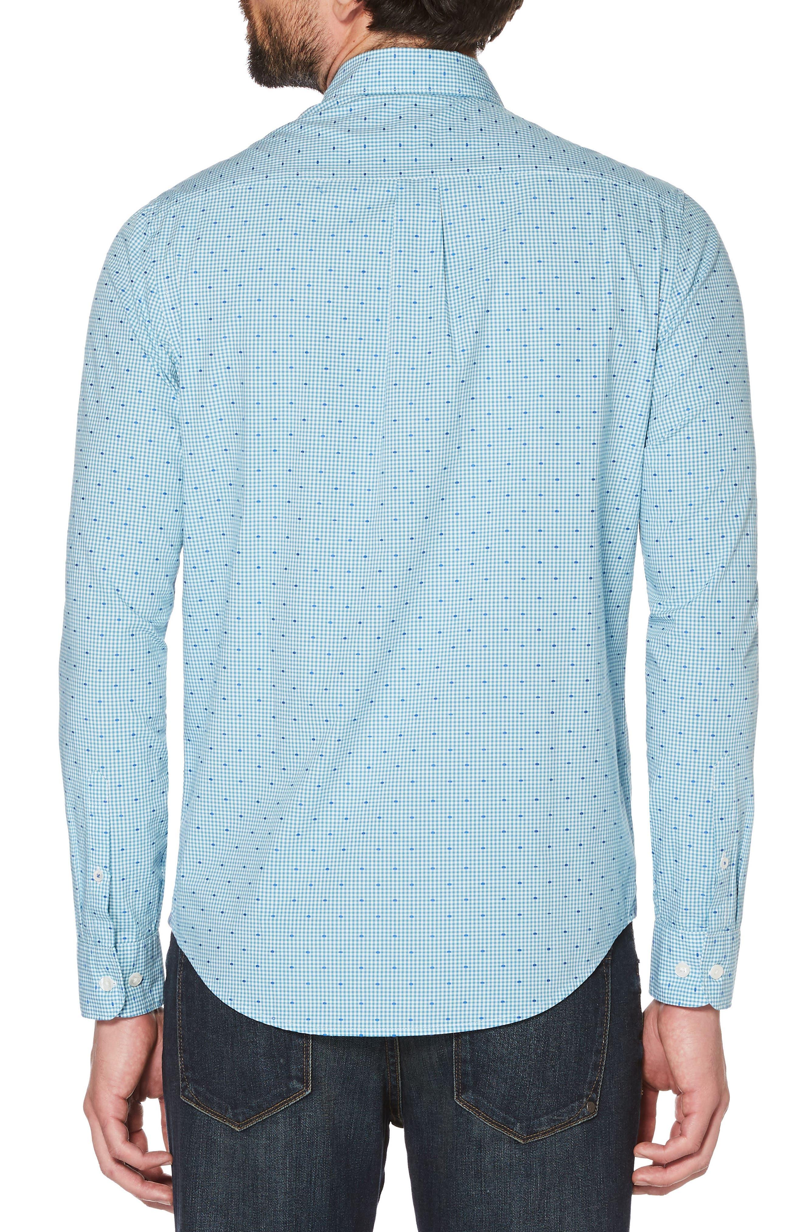 Dobby Shirt,                             Alternate thumbnail 2, color,                             Blue Moon