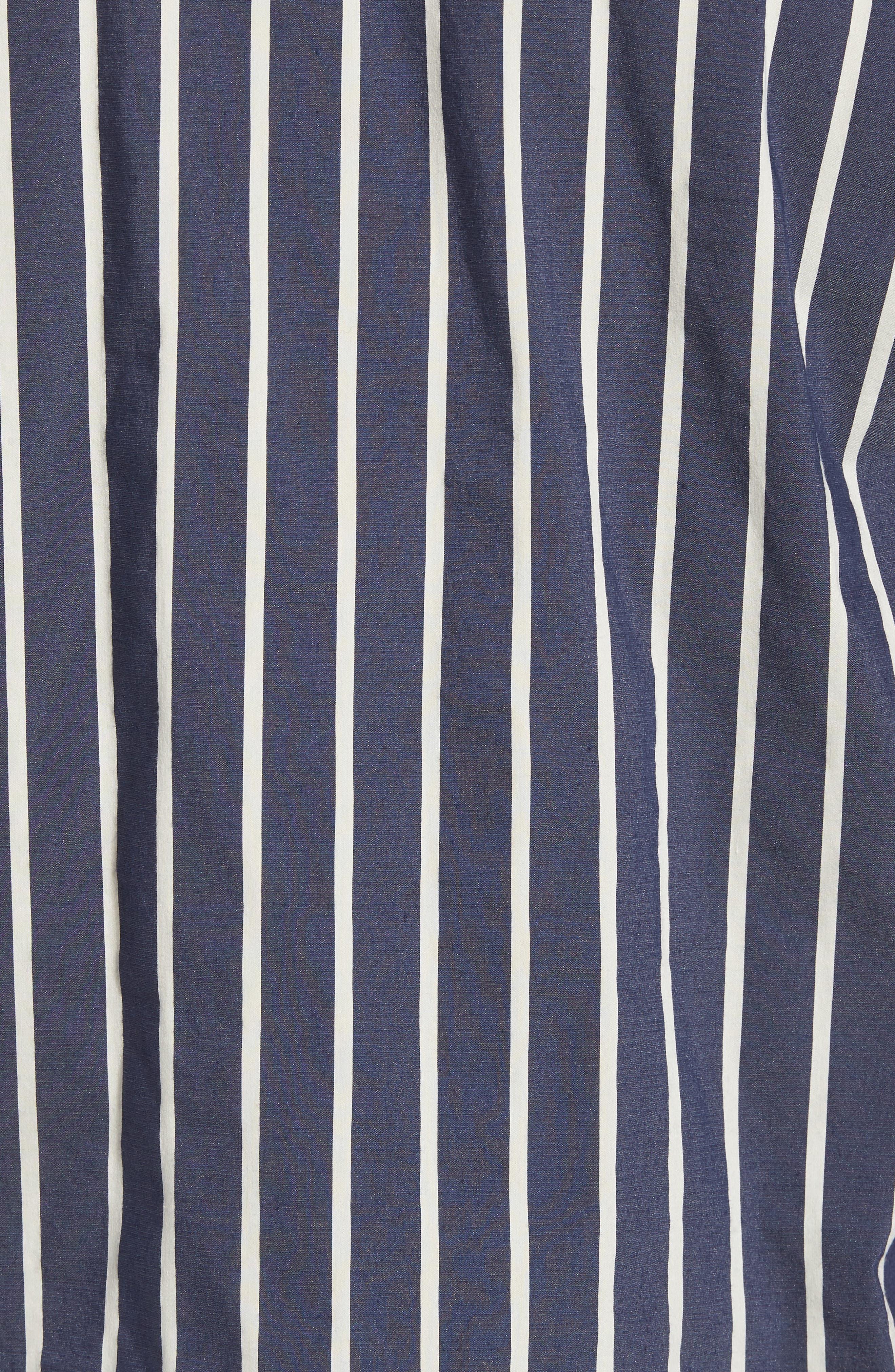 Regular Fit Stretch Short Sleeve Sport Shirt,                             Alternate thumbnail 5, color,                             New Coastal