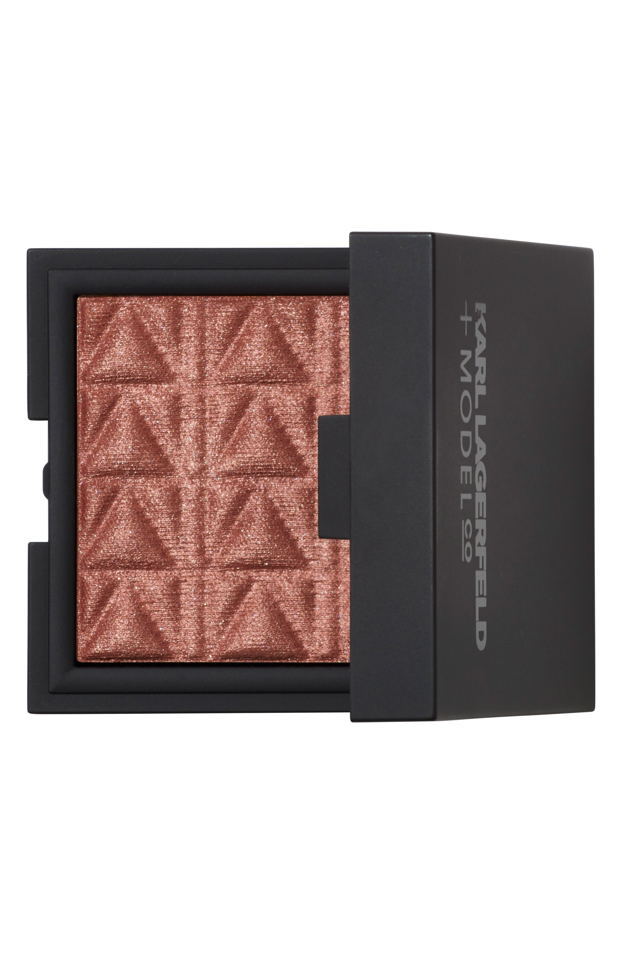 KARL LAGERFELD + MODELCO Kiss Me Karl Luxe Highlight & Glow,                             Main thumbnail 1, color,                             Nude Pink