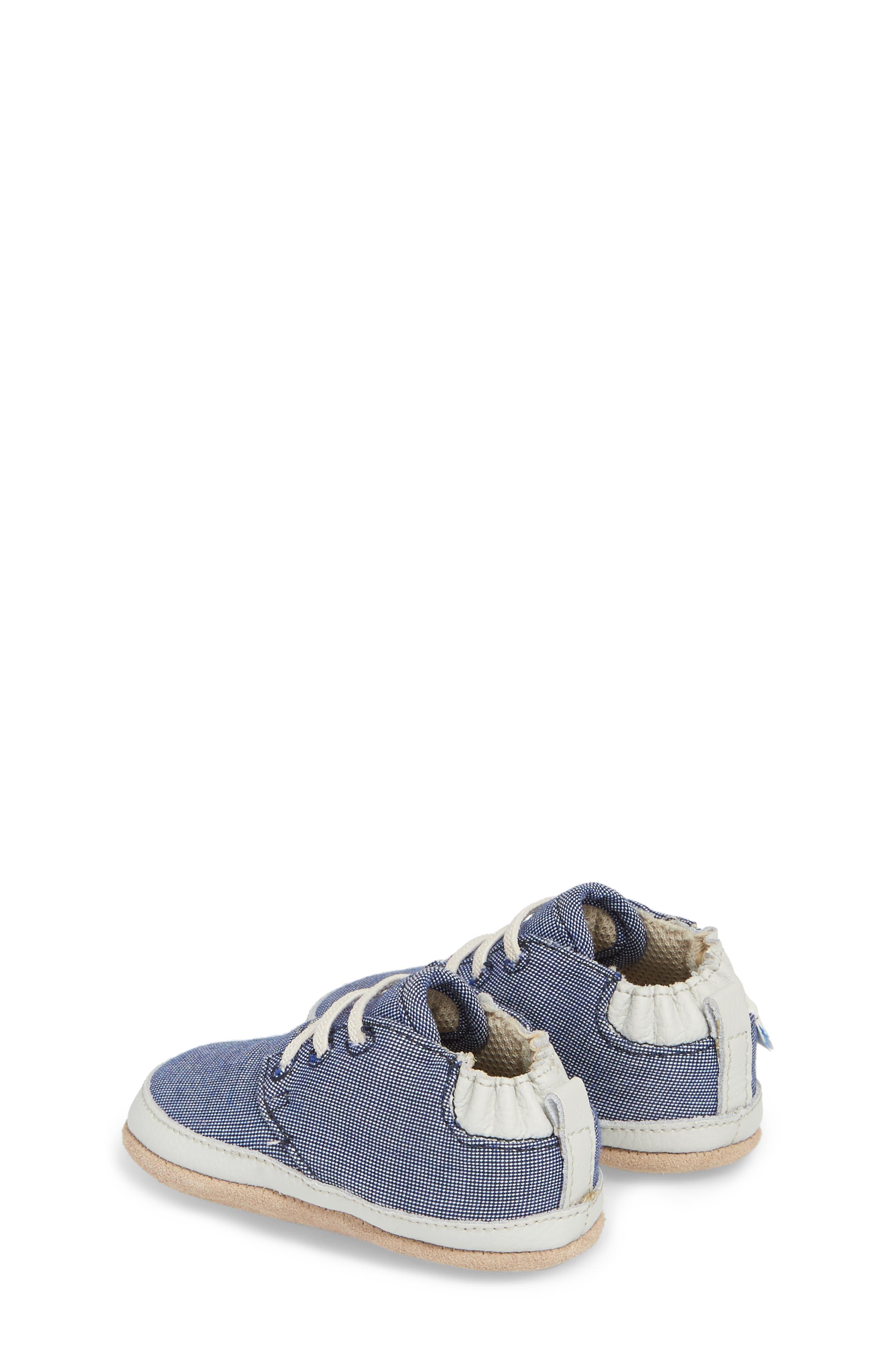 Steven Crib Sneaker,                             Alternate thumbnail 2, color,                             Denim