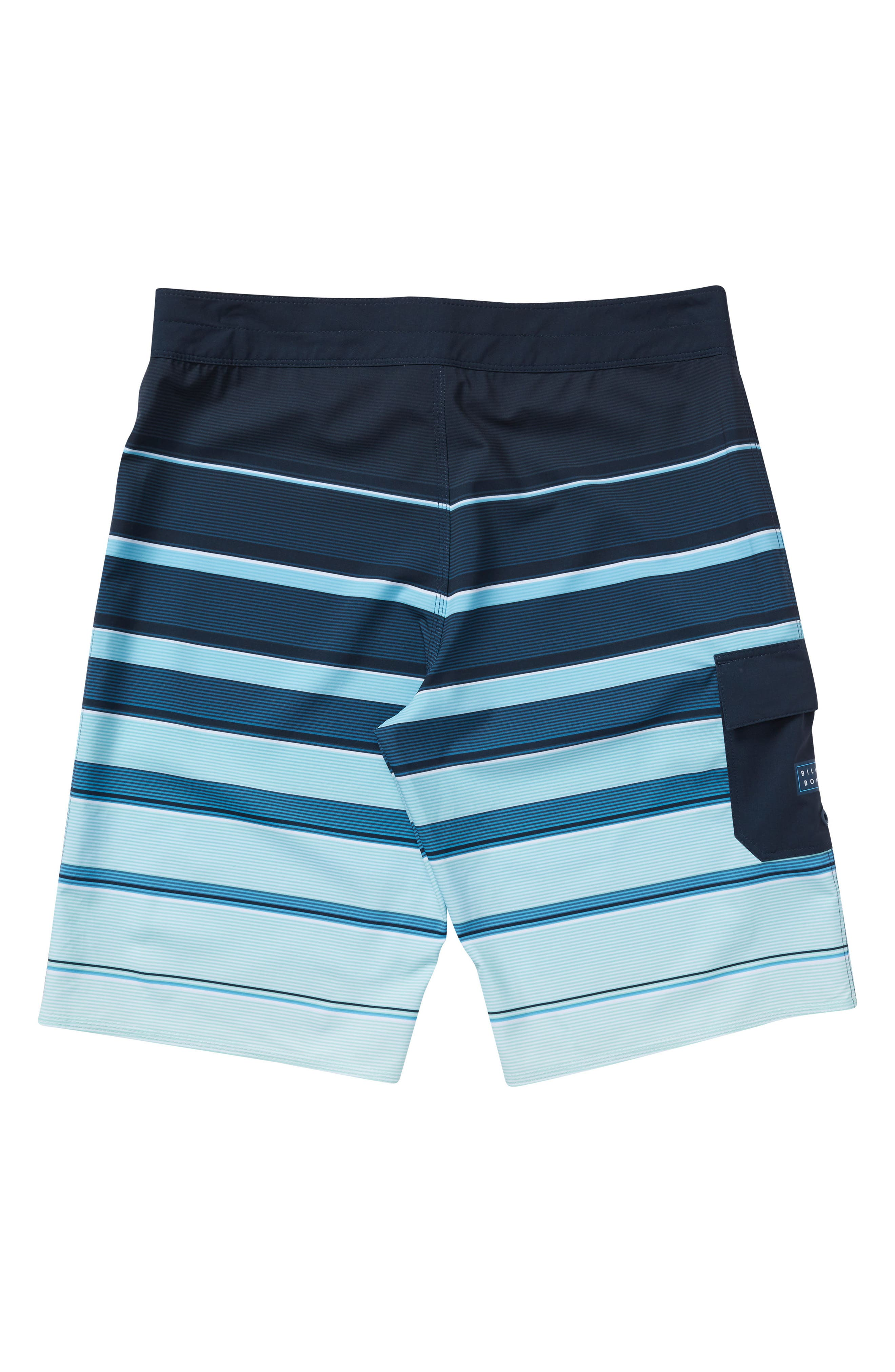 All Day X Stripe Board Shorts,                             Alternate thumbnail 2, color,                             Green