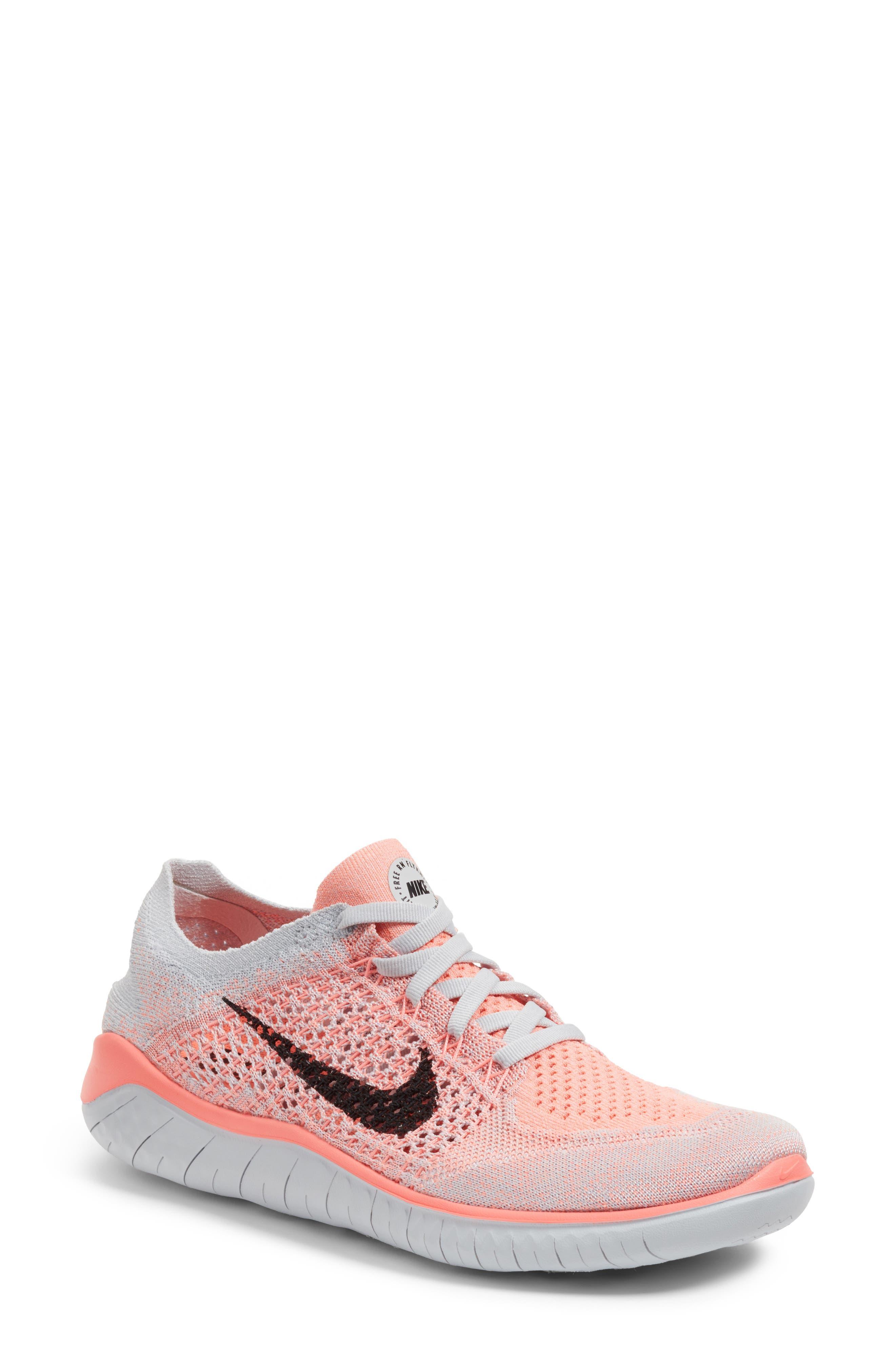 Nike Free RN Flyknit 2018 Running Shoe (Women)