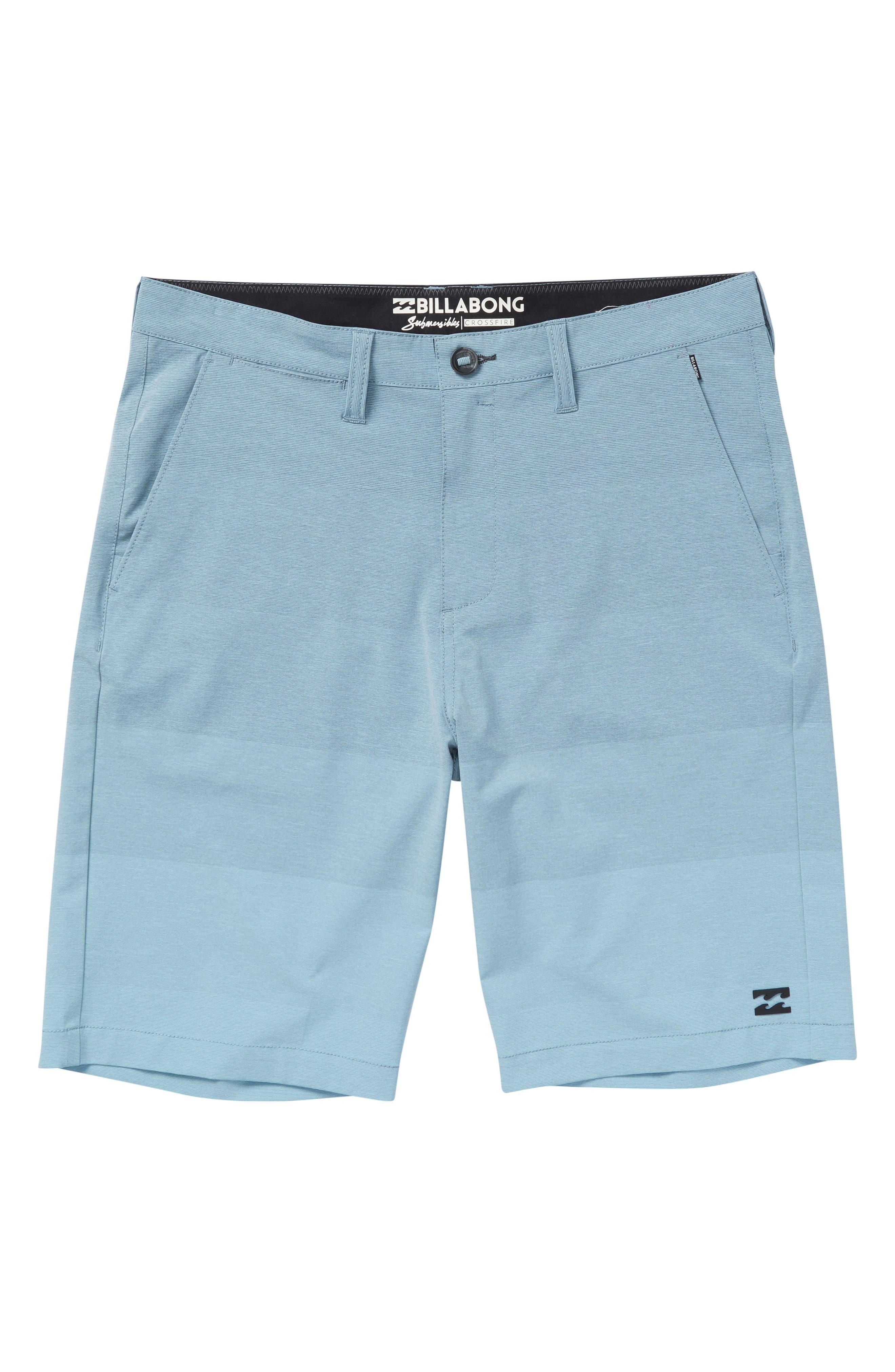 Crossfire X Faderade Hybrid Shorts,                         Main,                         color, Blue