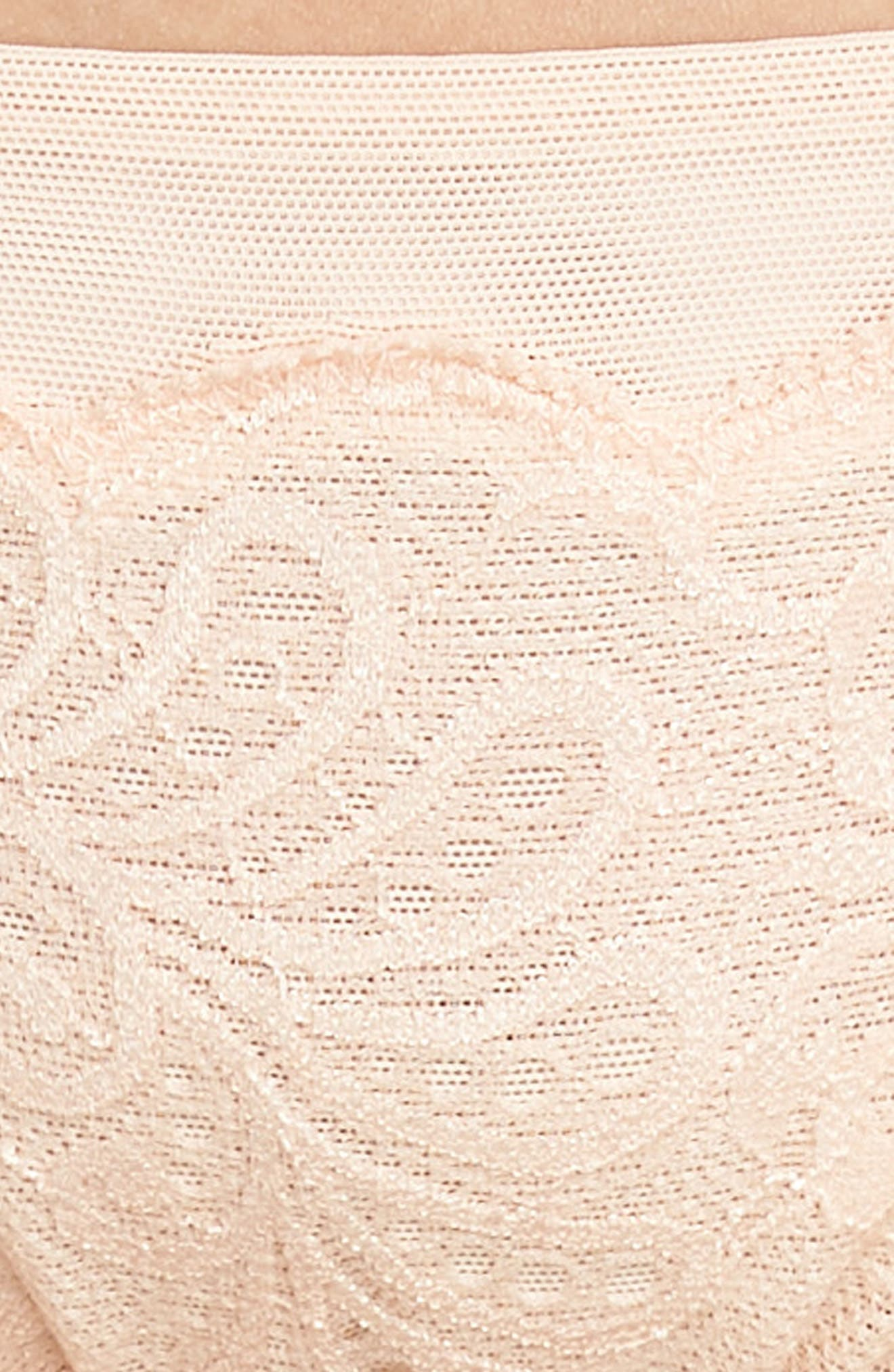 'Sophia' Lace Bikini,                             Alternate thumbnail 8, color,                             Peach Blossom