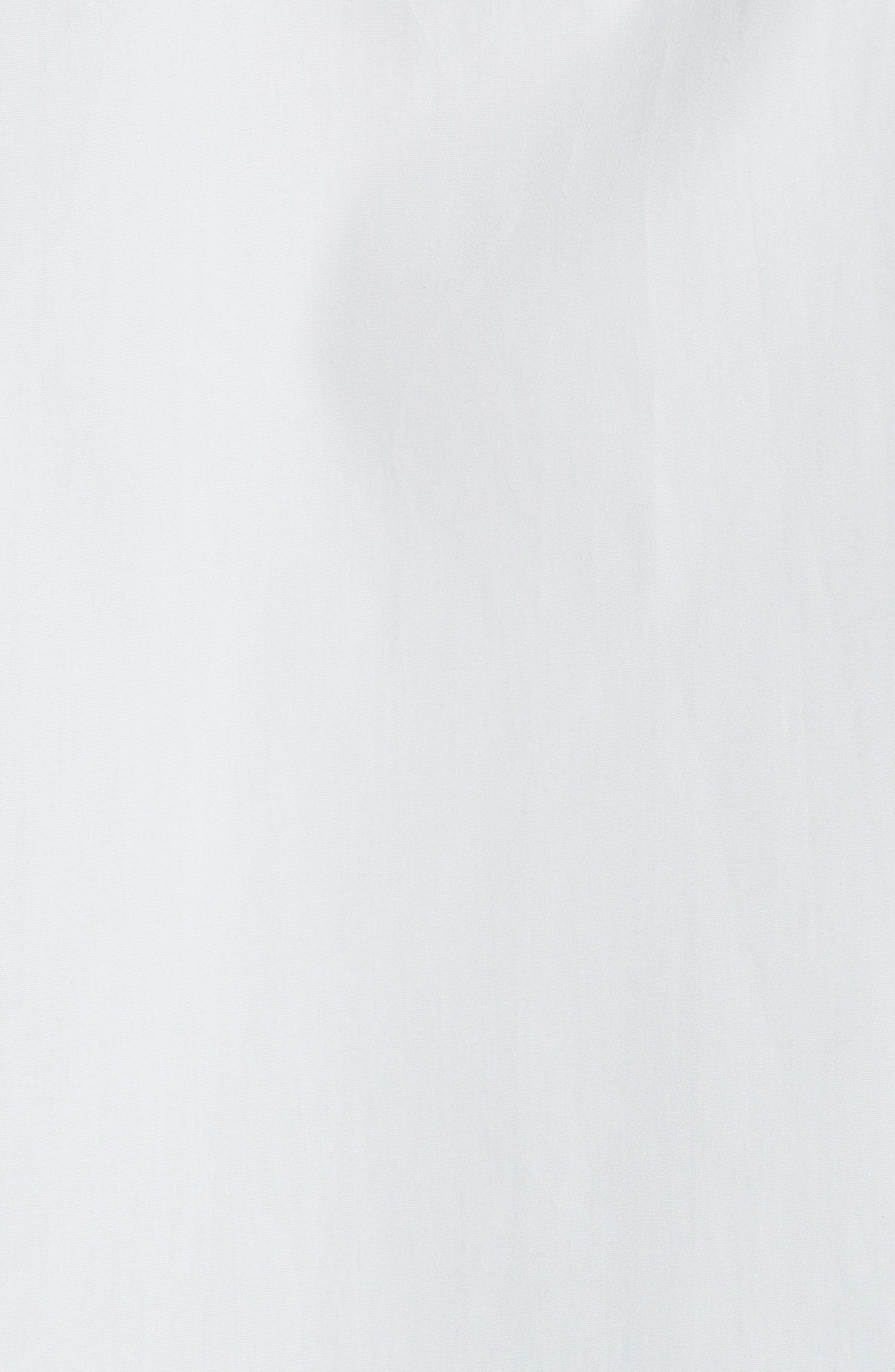 Short Sleeve Cotton Shirt,                             Alternate thumbnail 5, color,                             Powder Blue