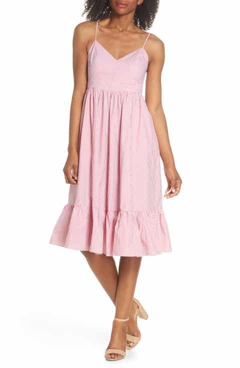 JCrew Drapey Spaghetti Strap Dress (Nordstrom Exclusive)