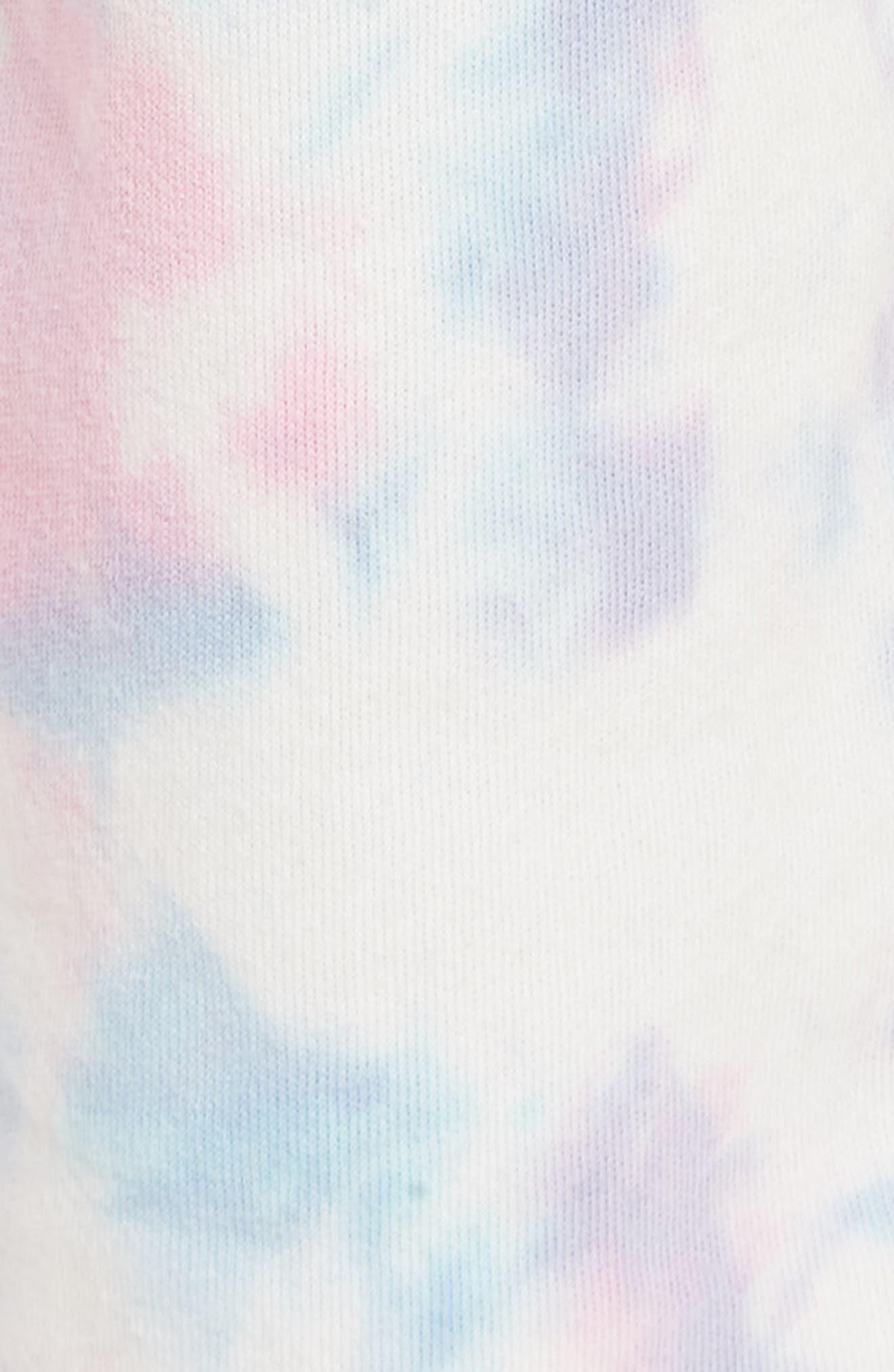 Aura Tie Dye Easy Sweatpants,                             Alternate thumbnail 6, color,                             Aura Tie Dye