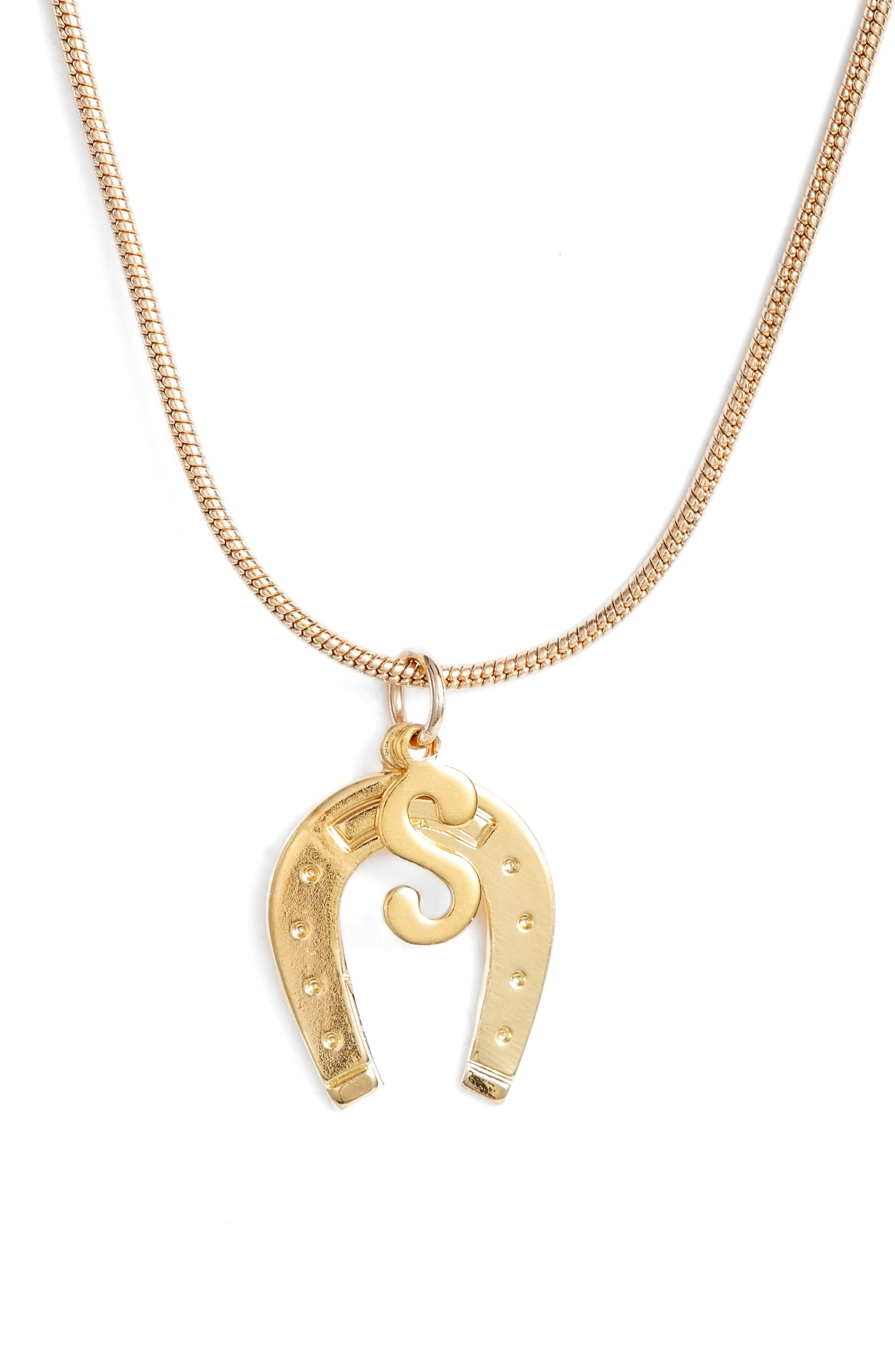 pendant irish vintage horseshoe in gold lucky crop hallmark riding products charm