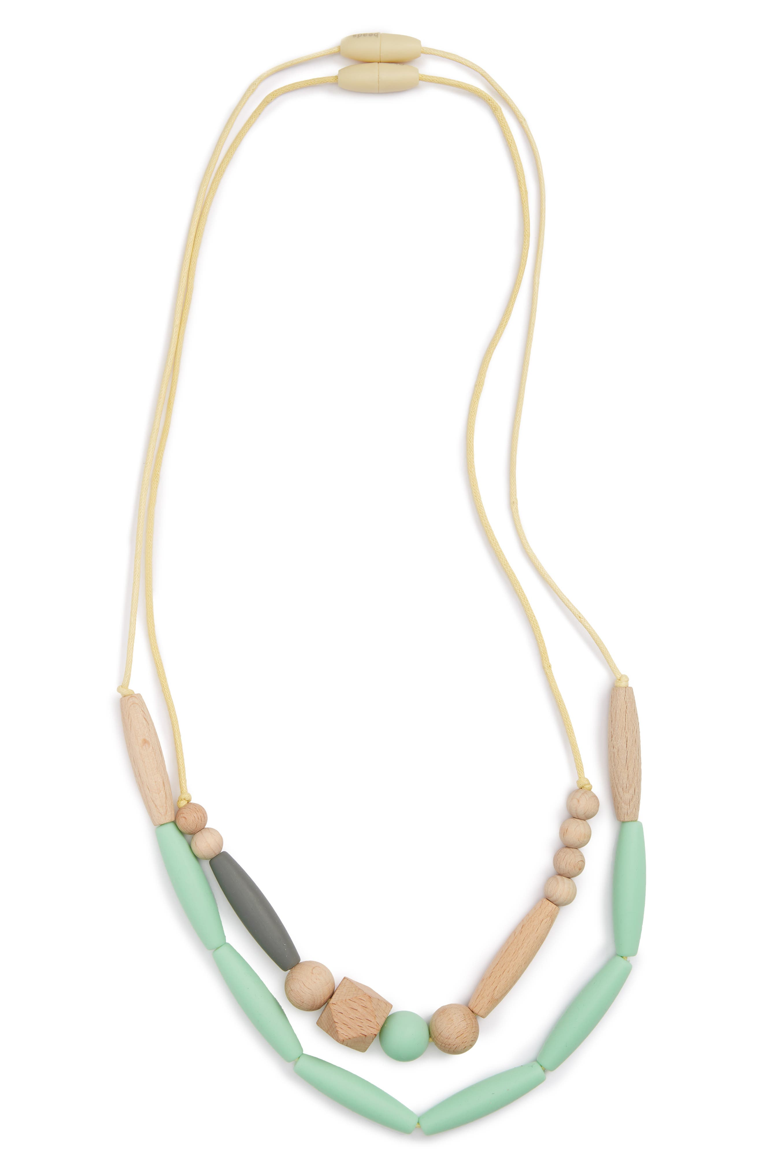 Metropolitan - Brooklyn Collection Teether Necklace,                             Main thumbnail 1, color,                             Mint
