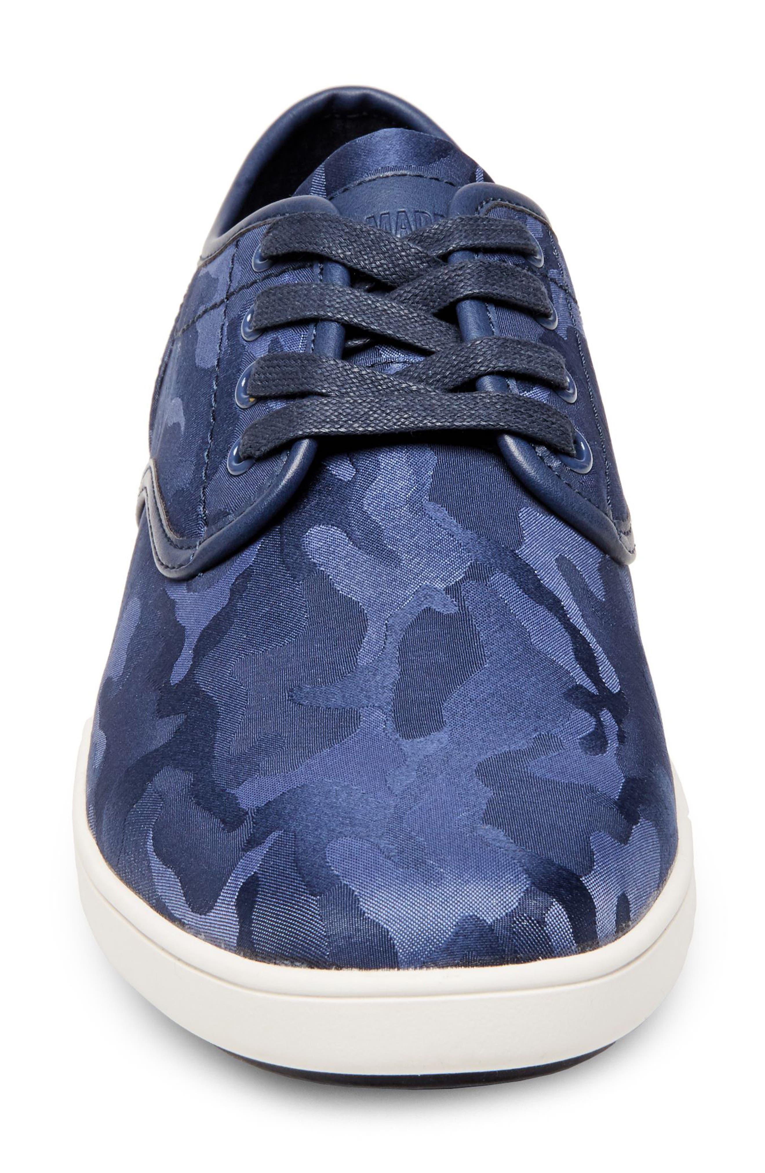 Frenzo Camo Sneaker,                             Alternate thumbnail 5, color,                             Blue Camo Fabric