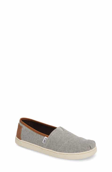 05b2eab85 TOMS Chambray Slip-On (Baby, Walker, Toddler, Little Kid & Big Kid)
