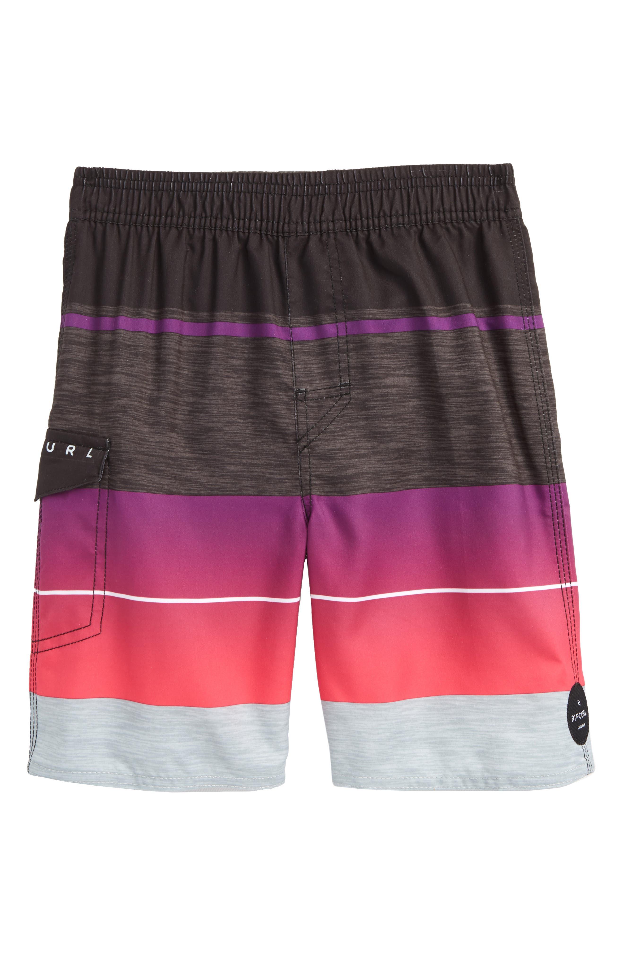 Mirage Eclipse Volley Shorts,                             Main thumbnail 1, color,                             Pink