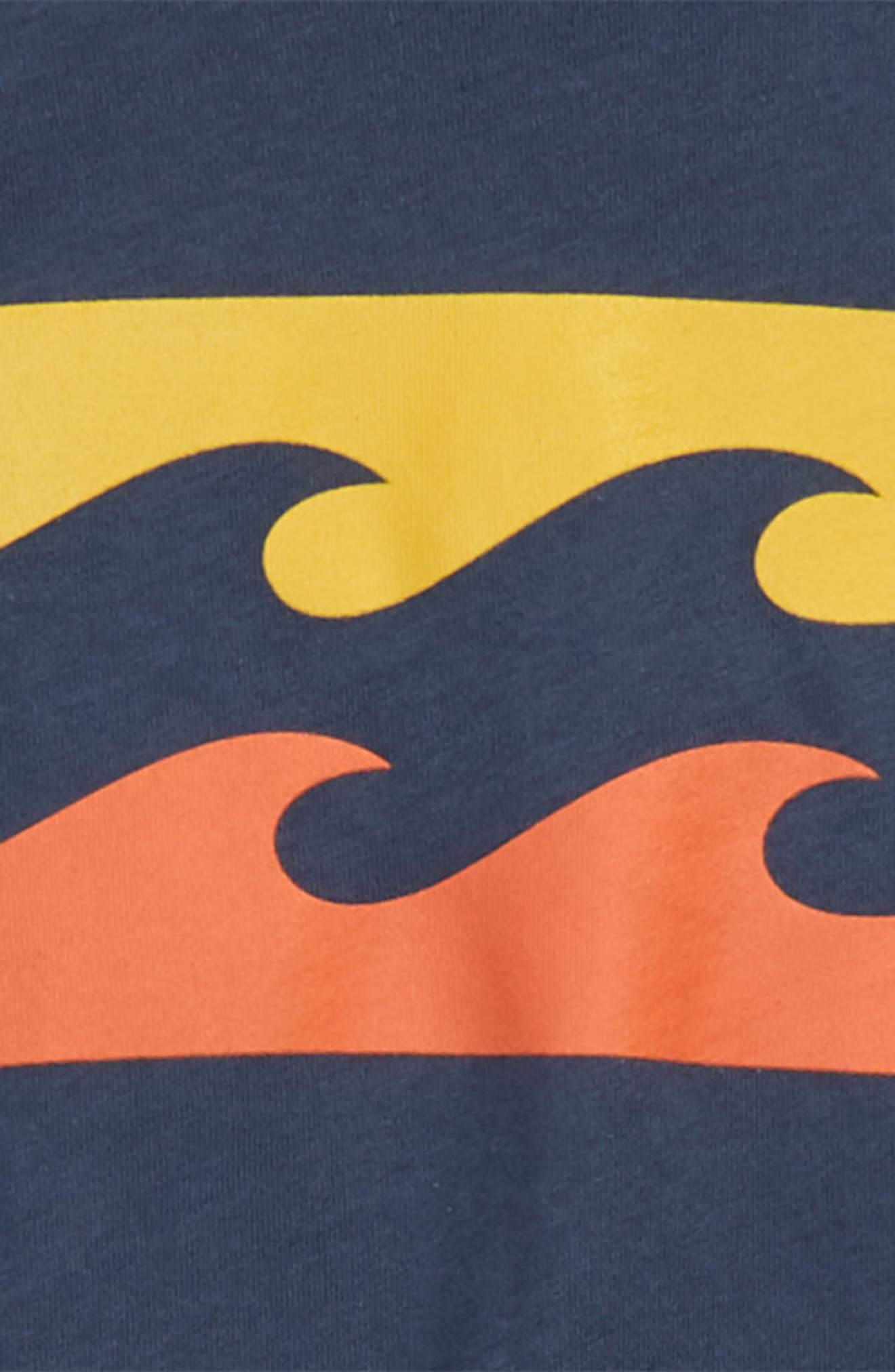 Wave T-Shirt,                             Alternate thumbnail 2, color,                             Navy
