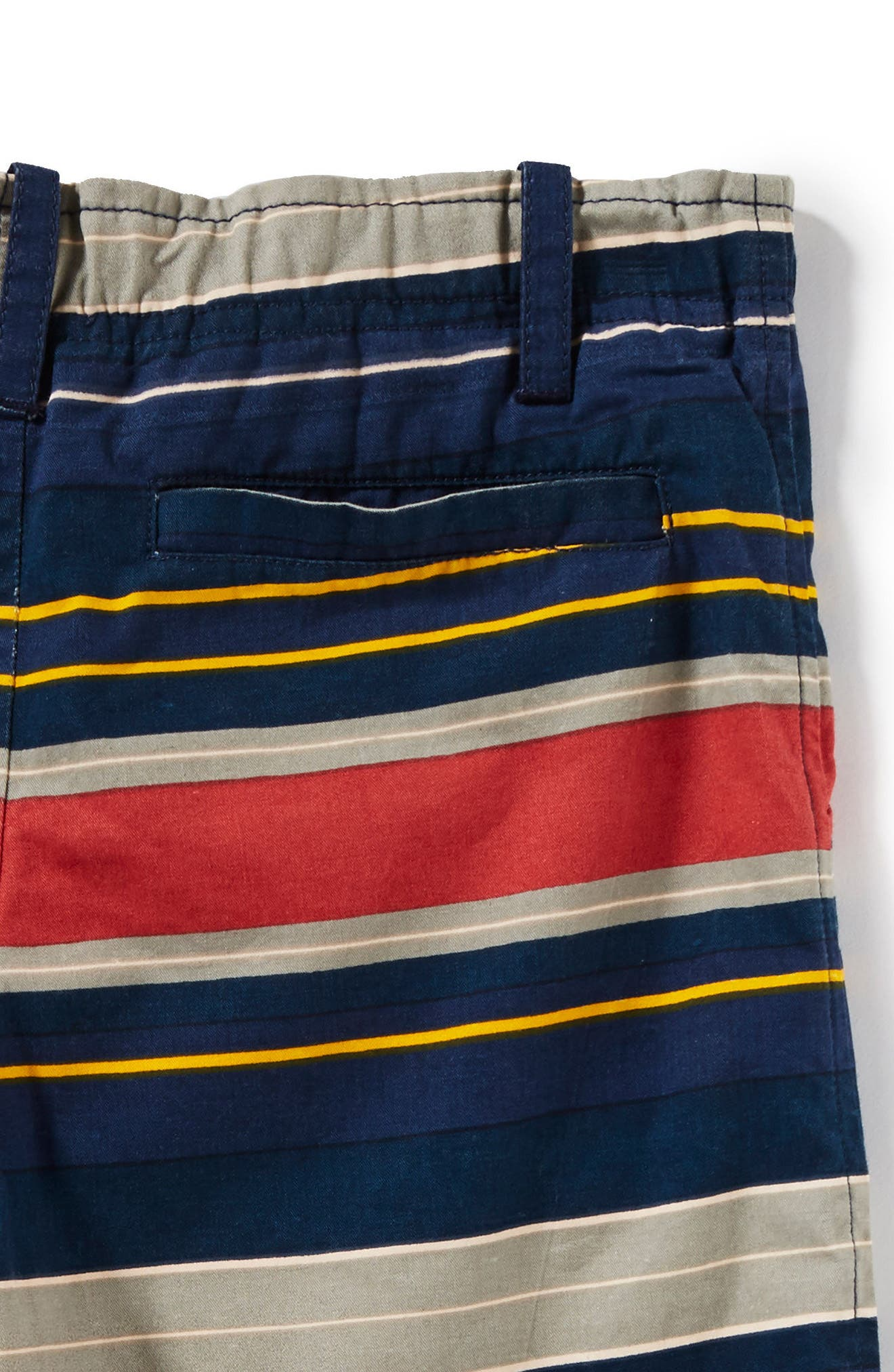 Hudson Stripe Shorts,                             Alternate thumbnail 2, color,                             Navy
