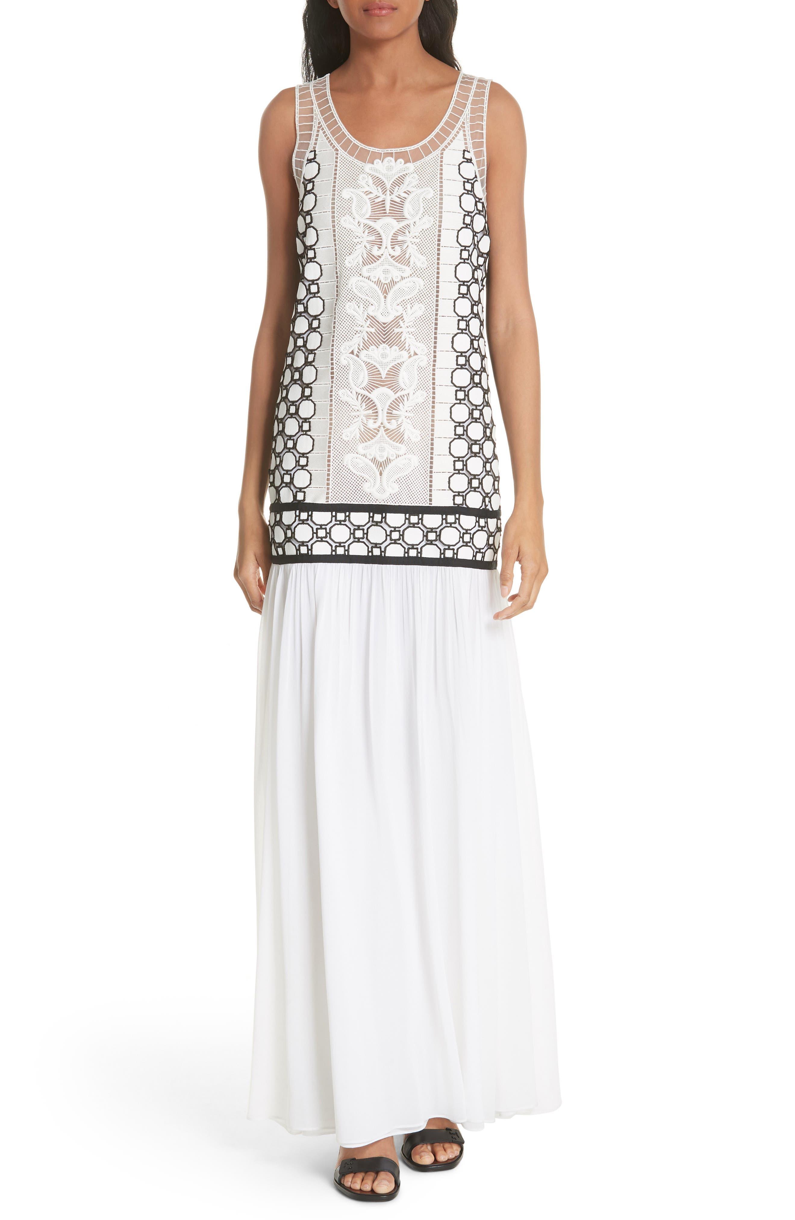 Helena Dress,                             Main thumbnail 1, color,                             White