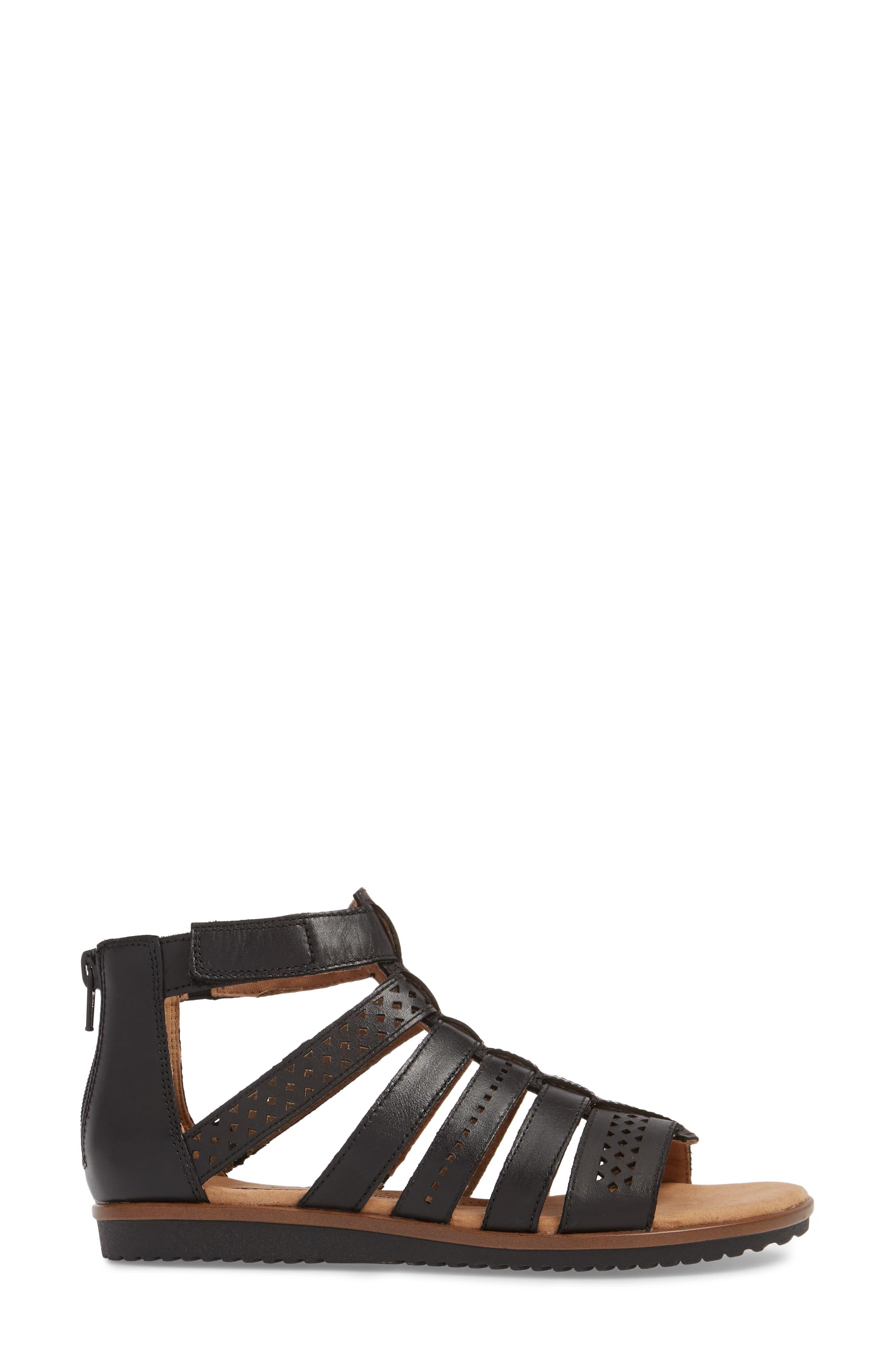 Alternate Image 3  - Clarks® Kele Lotus Sandal (Women)
