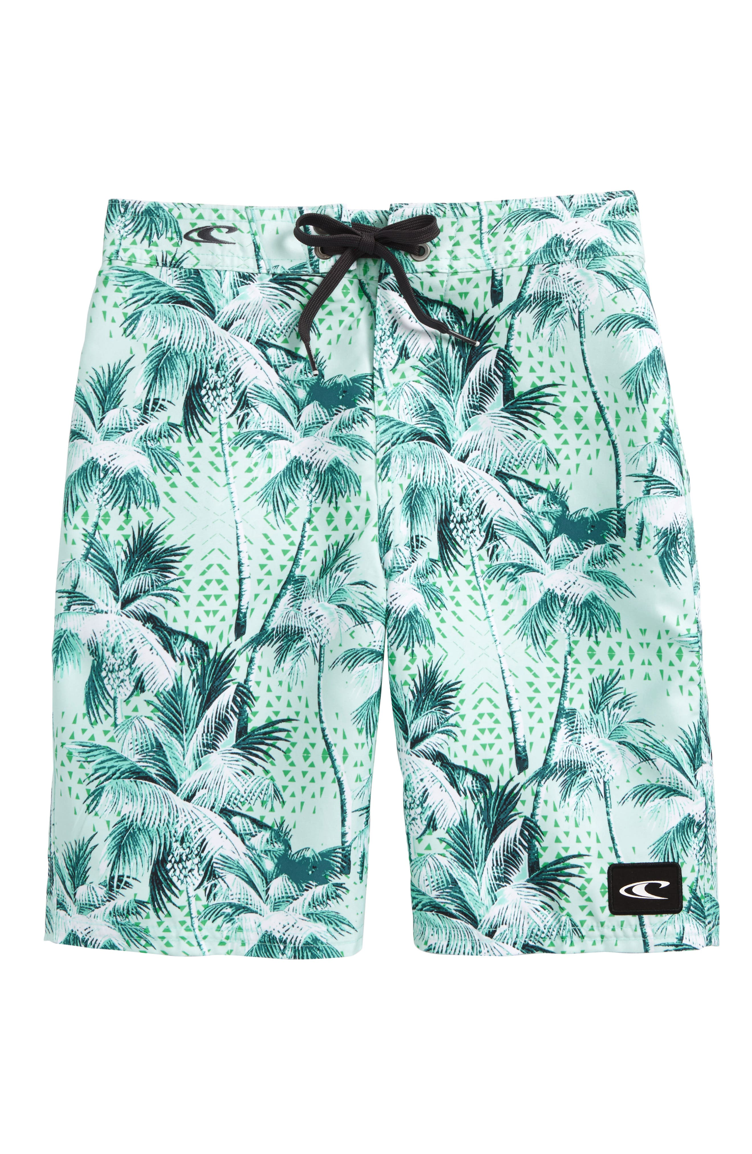 Darn Old Palmer Board Shorts,                             Main thumbnail 1, color,                             Pale Blue