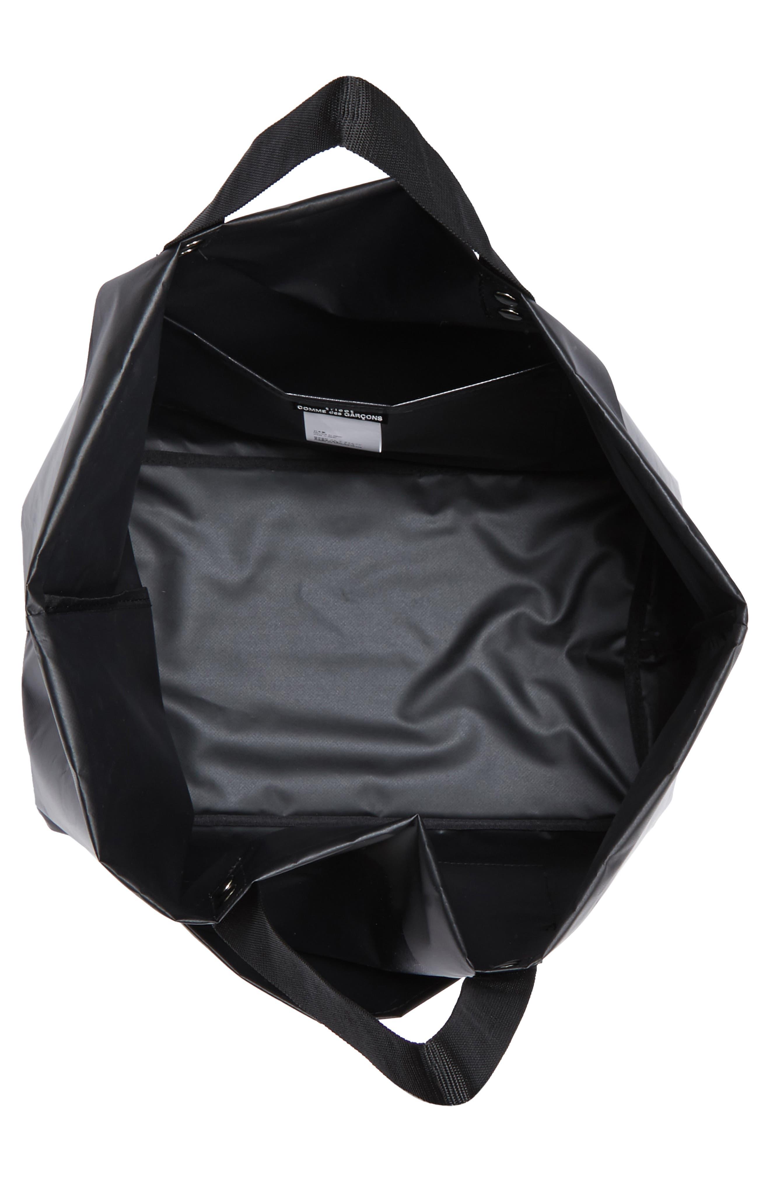 Large Tote,                             Alternate thumbnail 4, color,                             Black