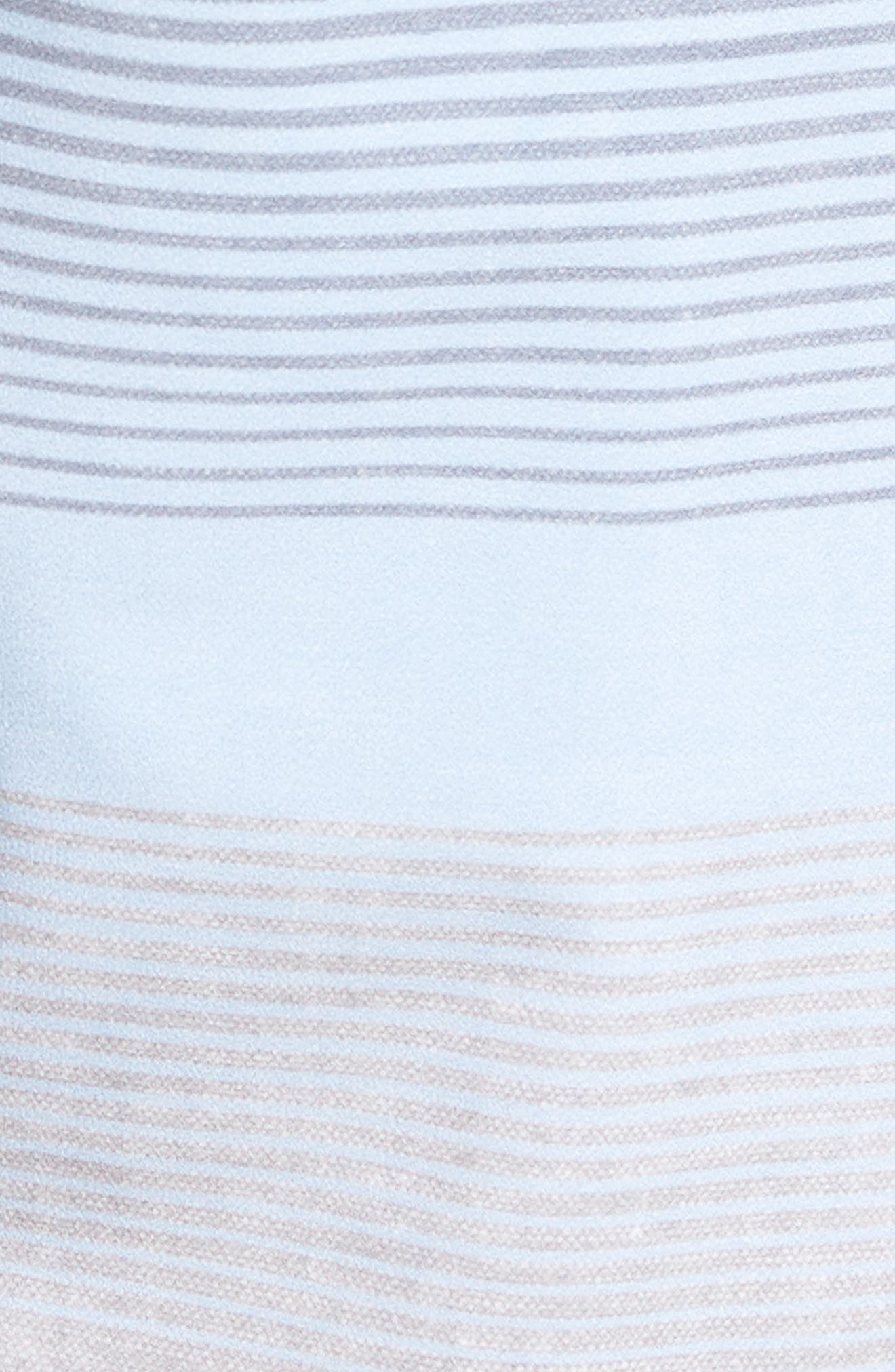 Seegrid Regular Fit Board Shorts,                             Alternate thumbnail 5, color,                             Heather Blue Nights